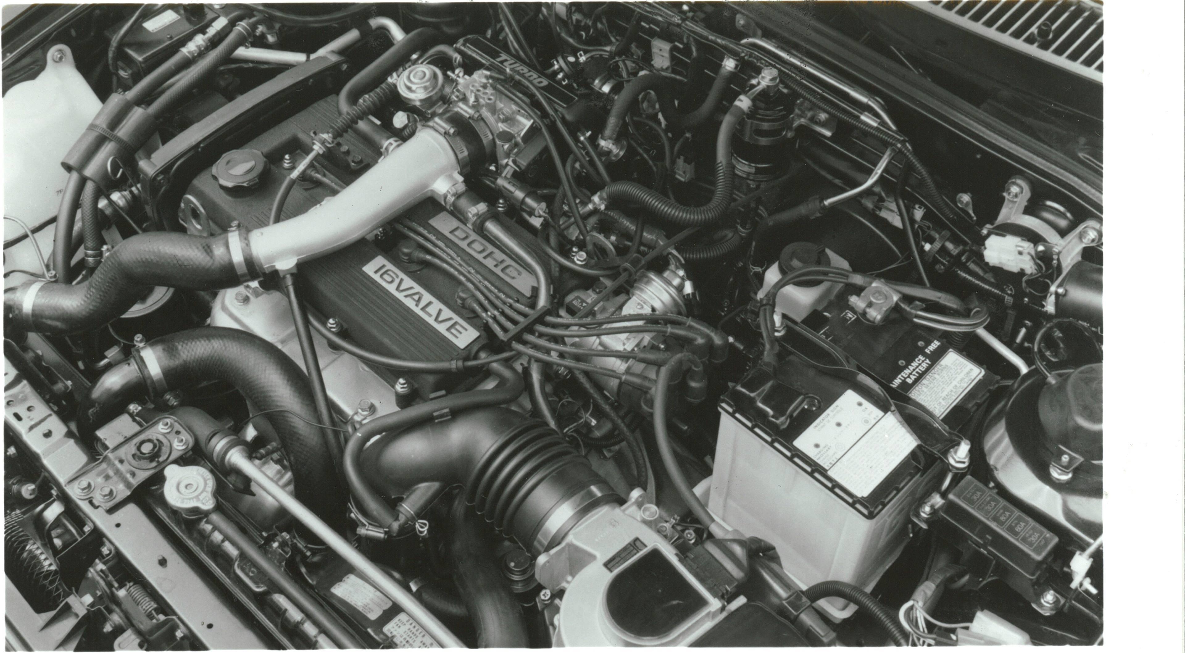 1988 Mazda 323 GTX Engine