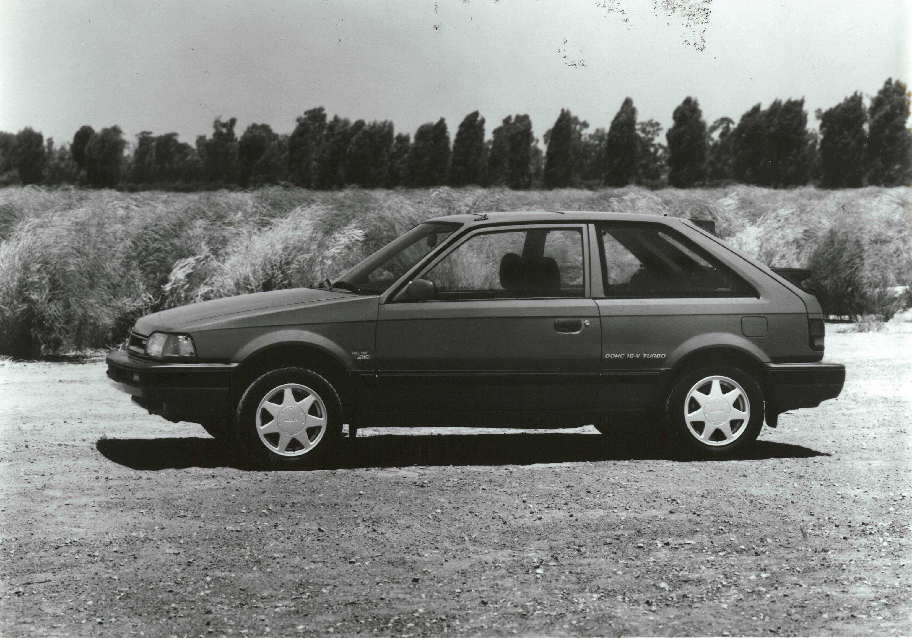 1988 Mazda 323 GTX profile