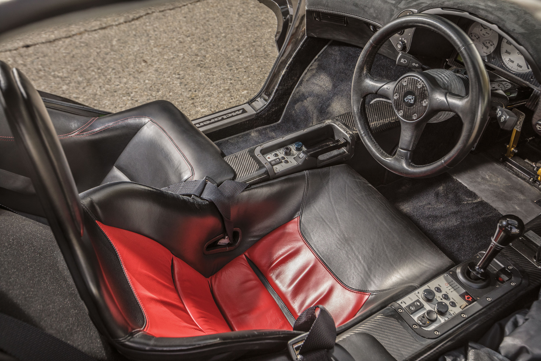 The Cockpit of a McLaren F1