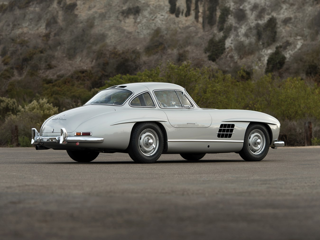 1955 Mercedes-Benz 300 SL Gullwing rear 3/4