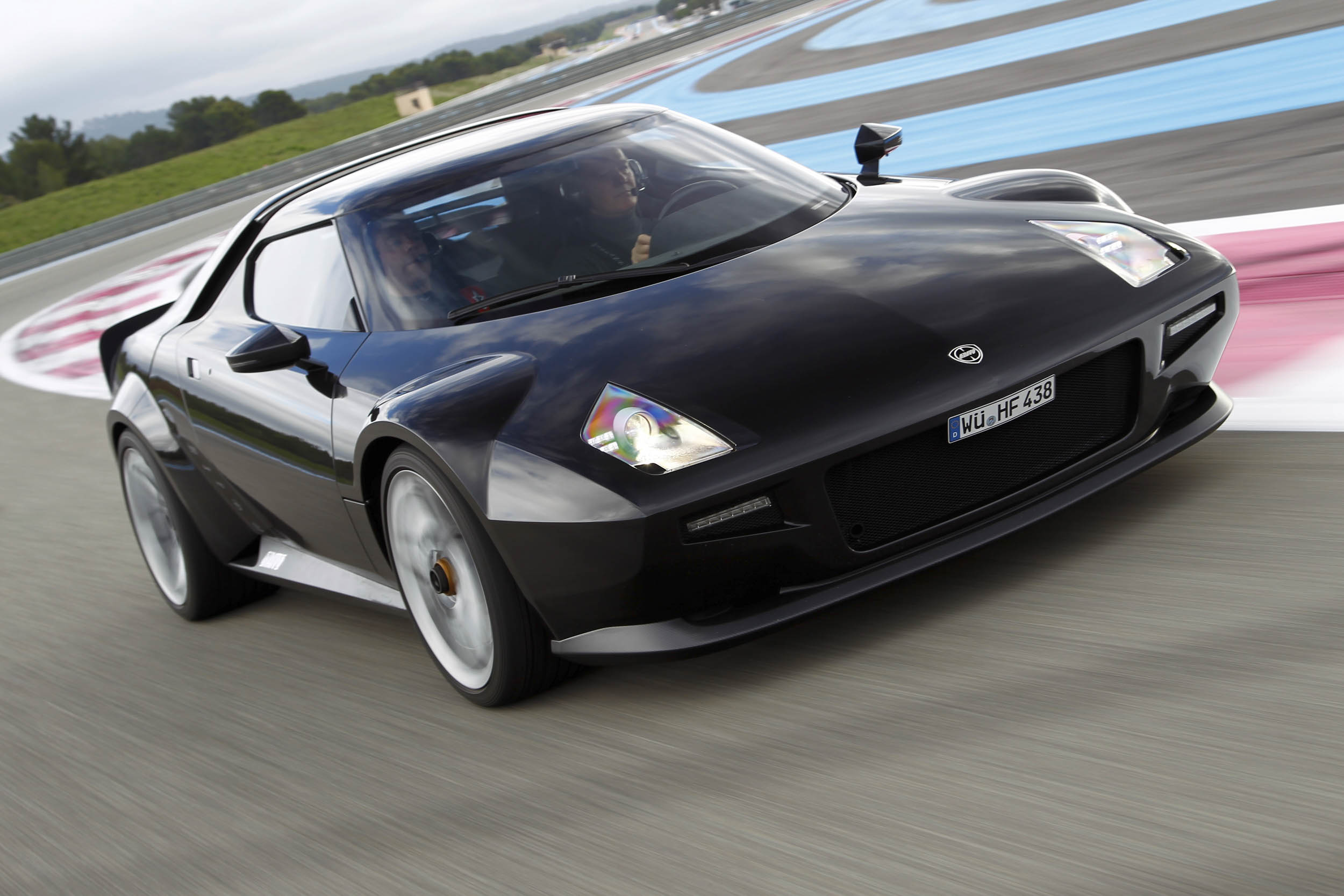New Stratos on the track