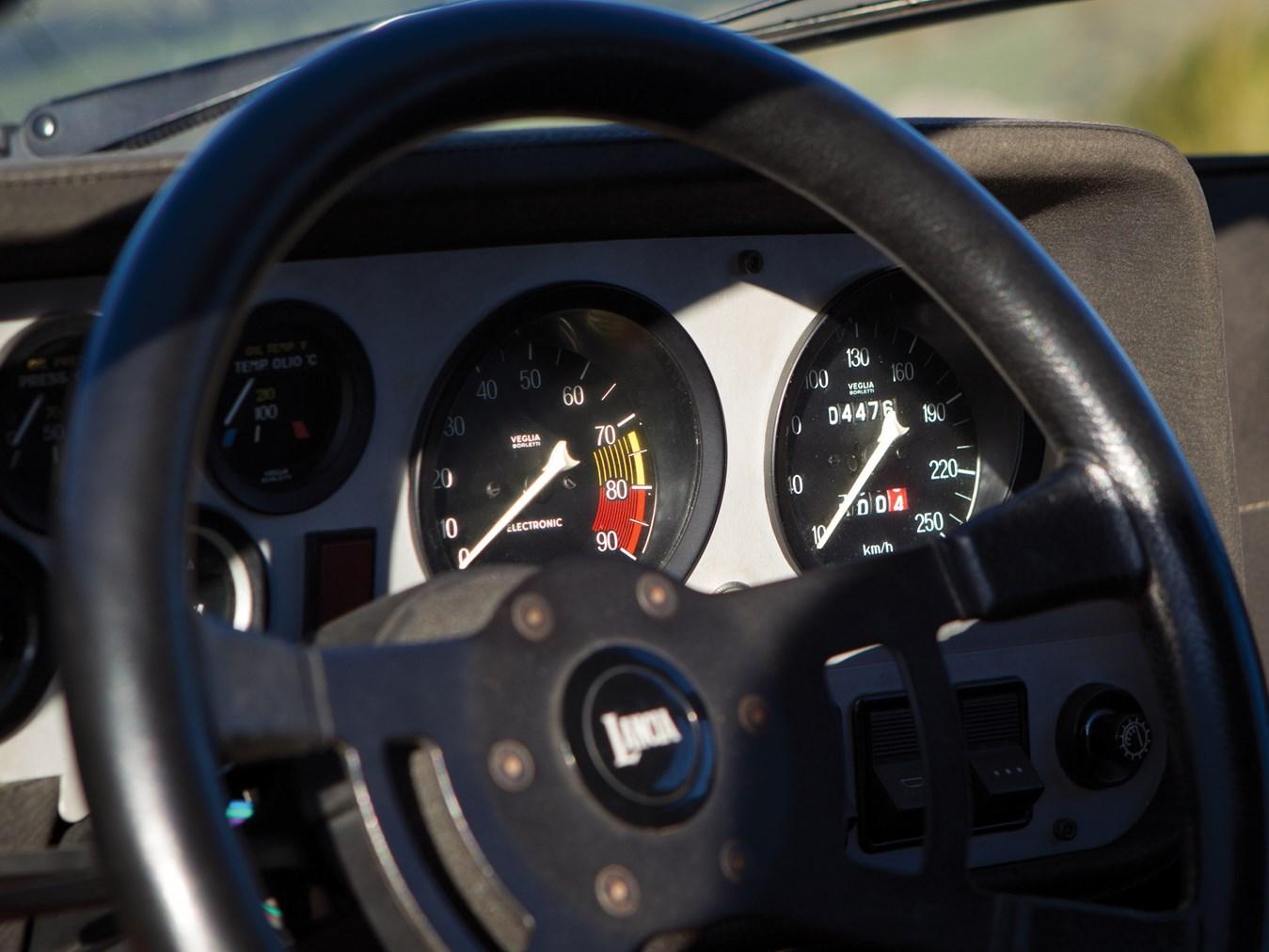 1974 Lancia Stratos HF Stradale steering wheel