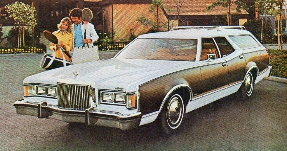 1977 Mercury Cougar Wagon ad