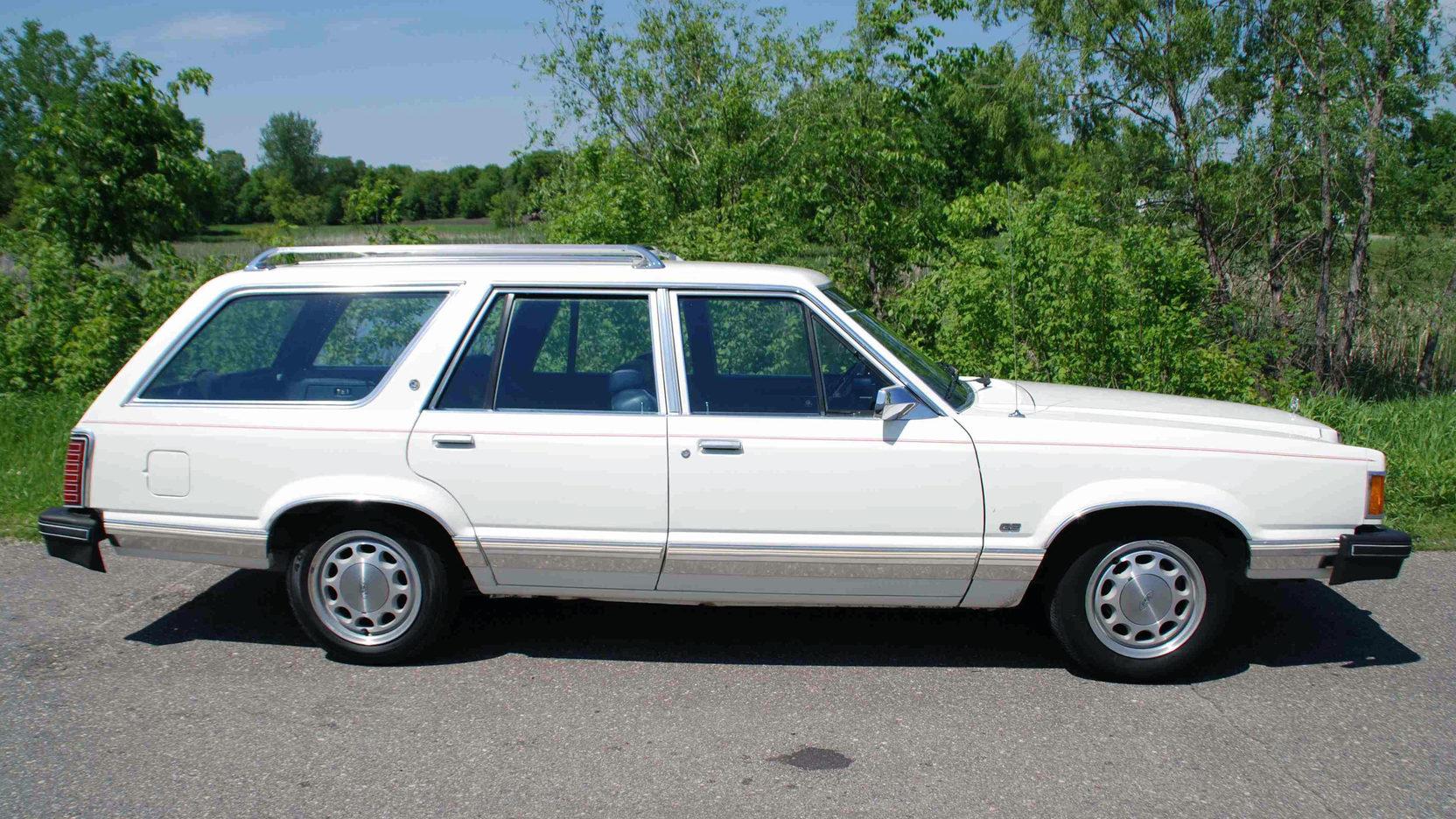1982 Mercury Cougar Wagon