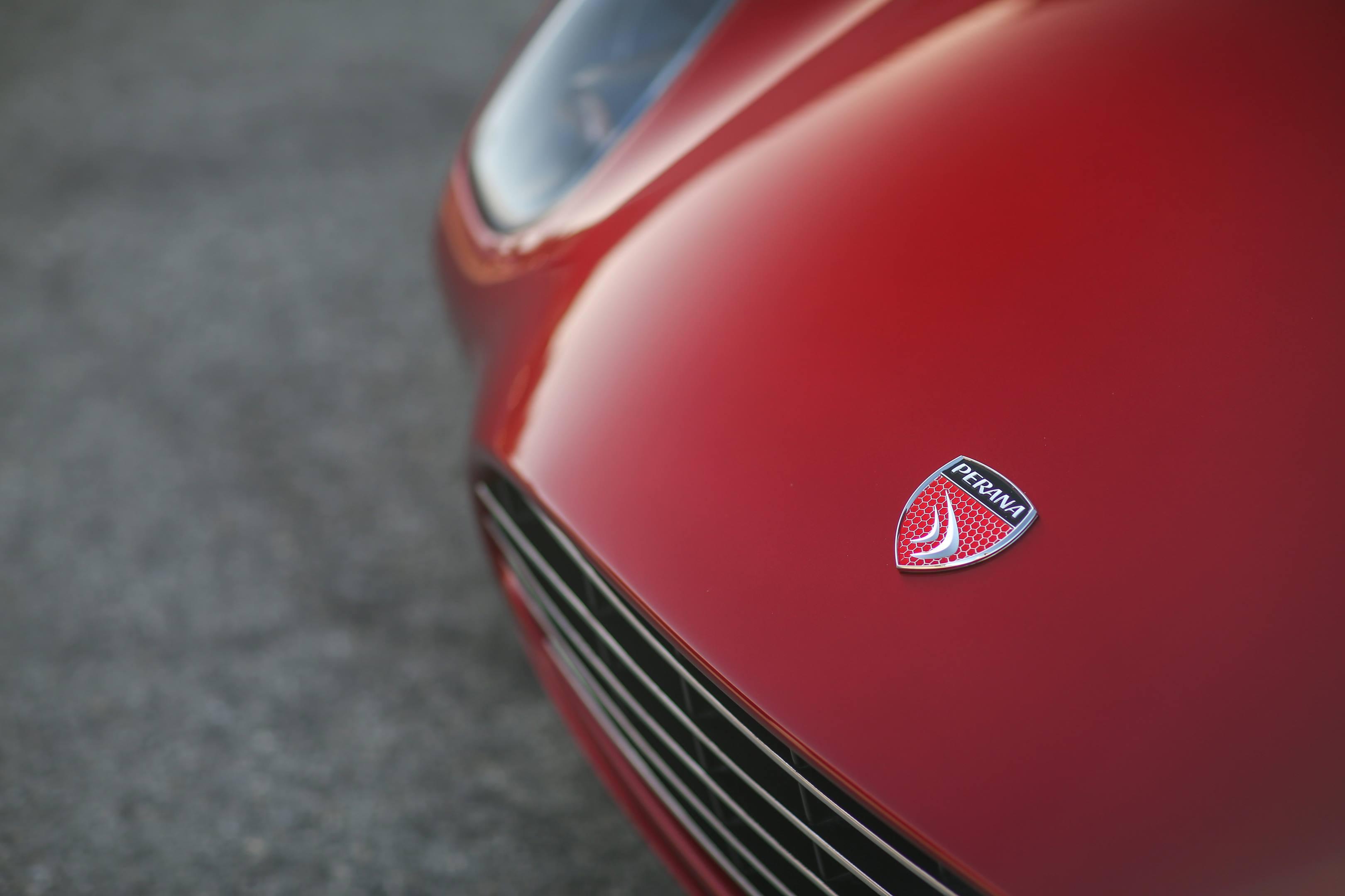 Zagato Perana Z-One badge detail