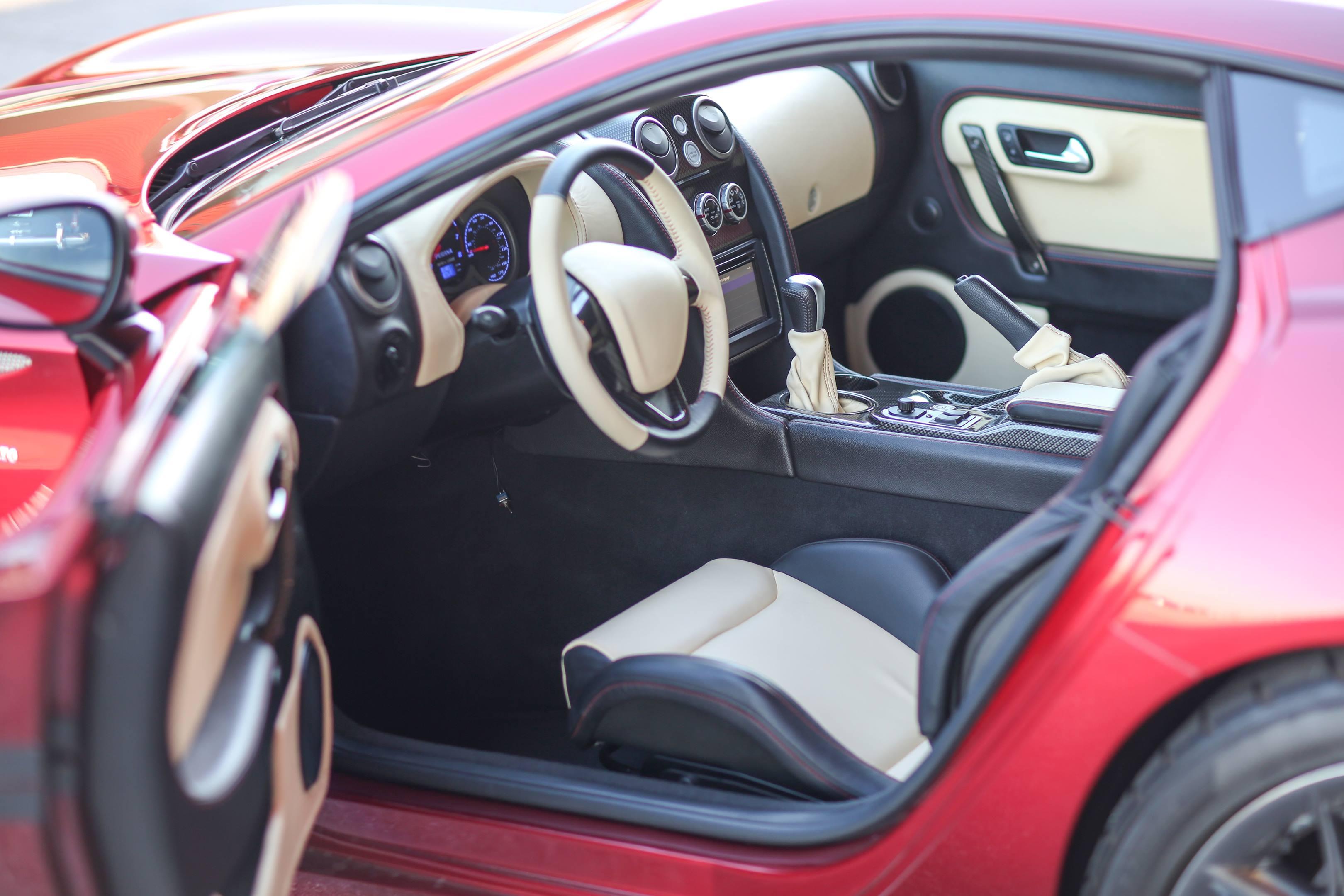 Zagato Perana Z-One interior