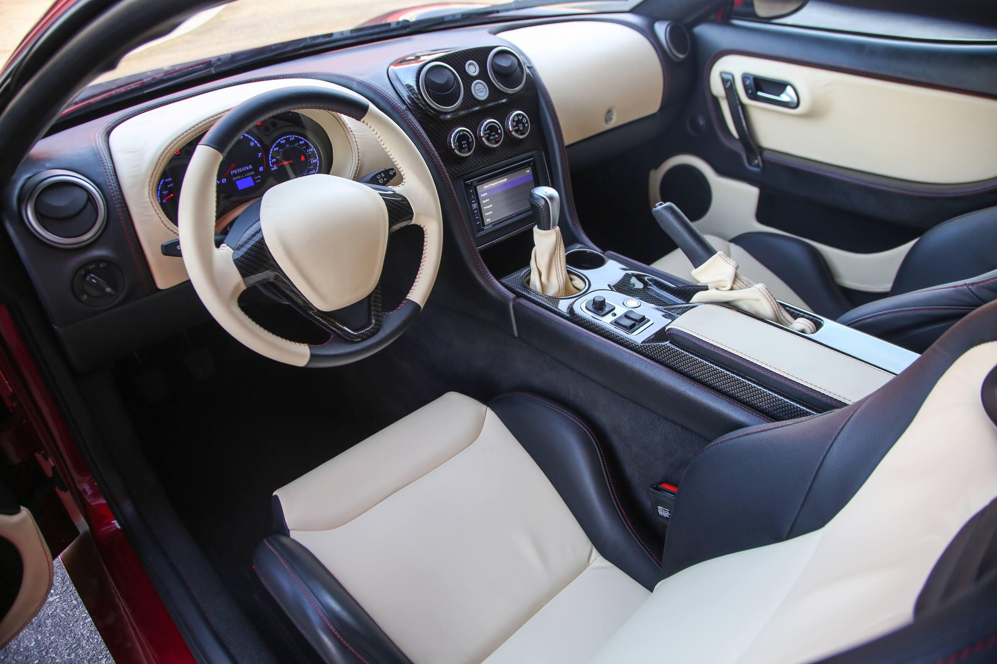 Zagato Perana Z-One drivers seat