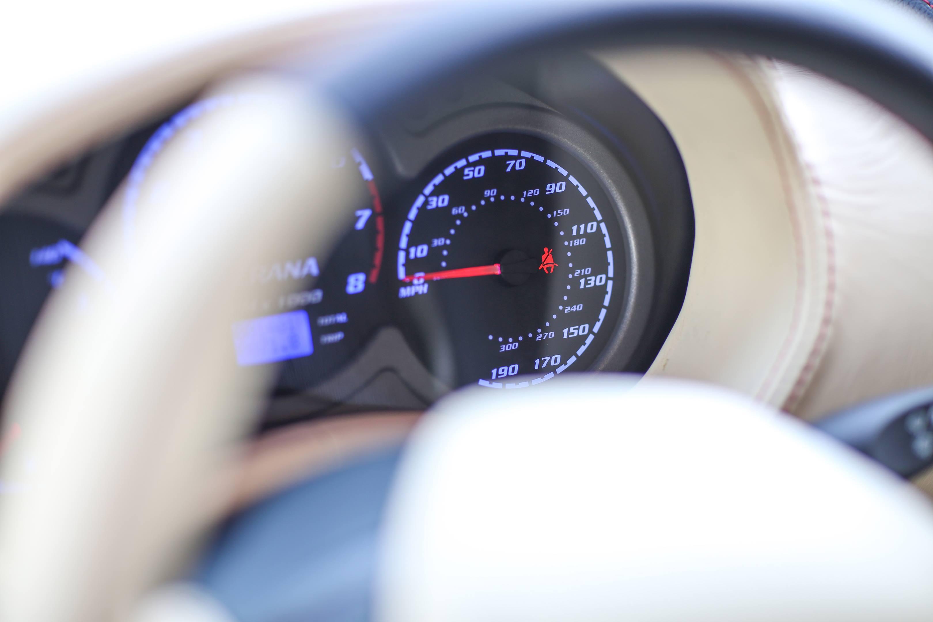 Zagato Perana Z-One gauge