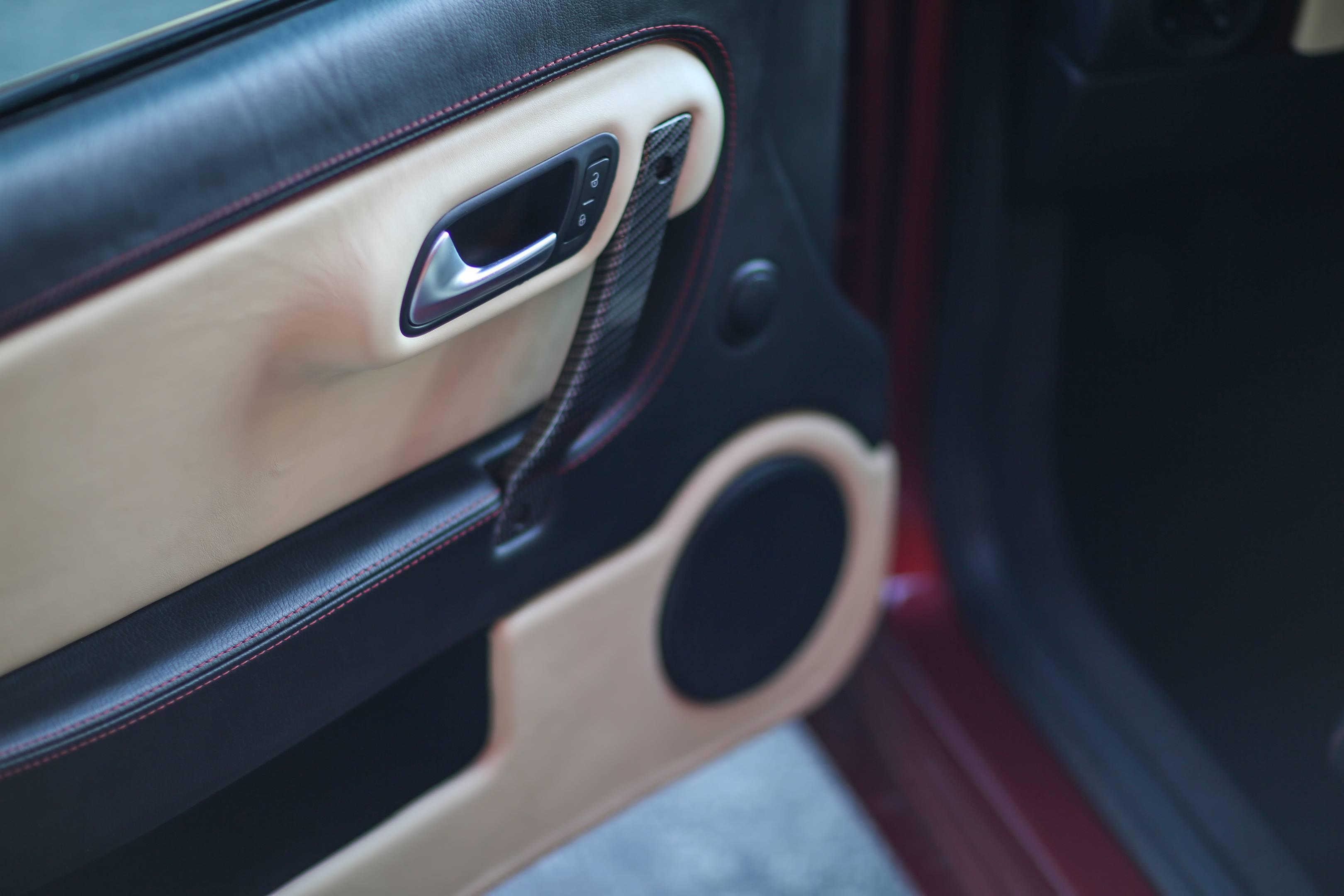 Zagato Perana Z-One door detail