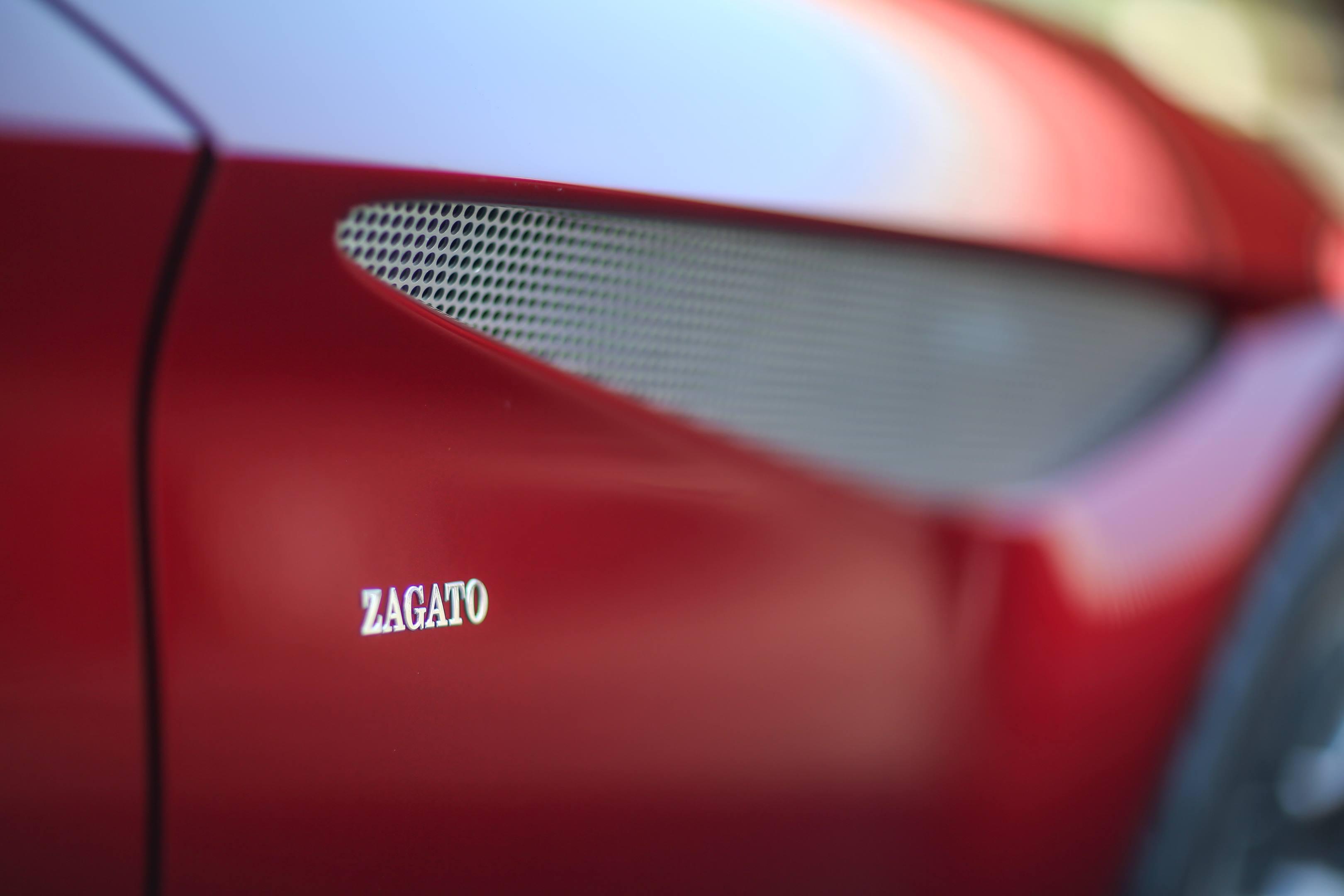 Zagato badge detail
