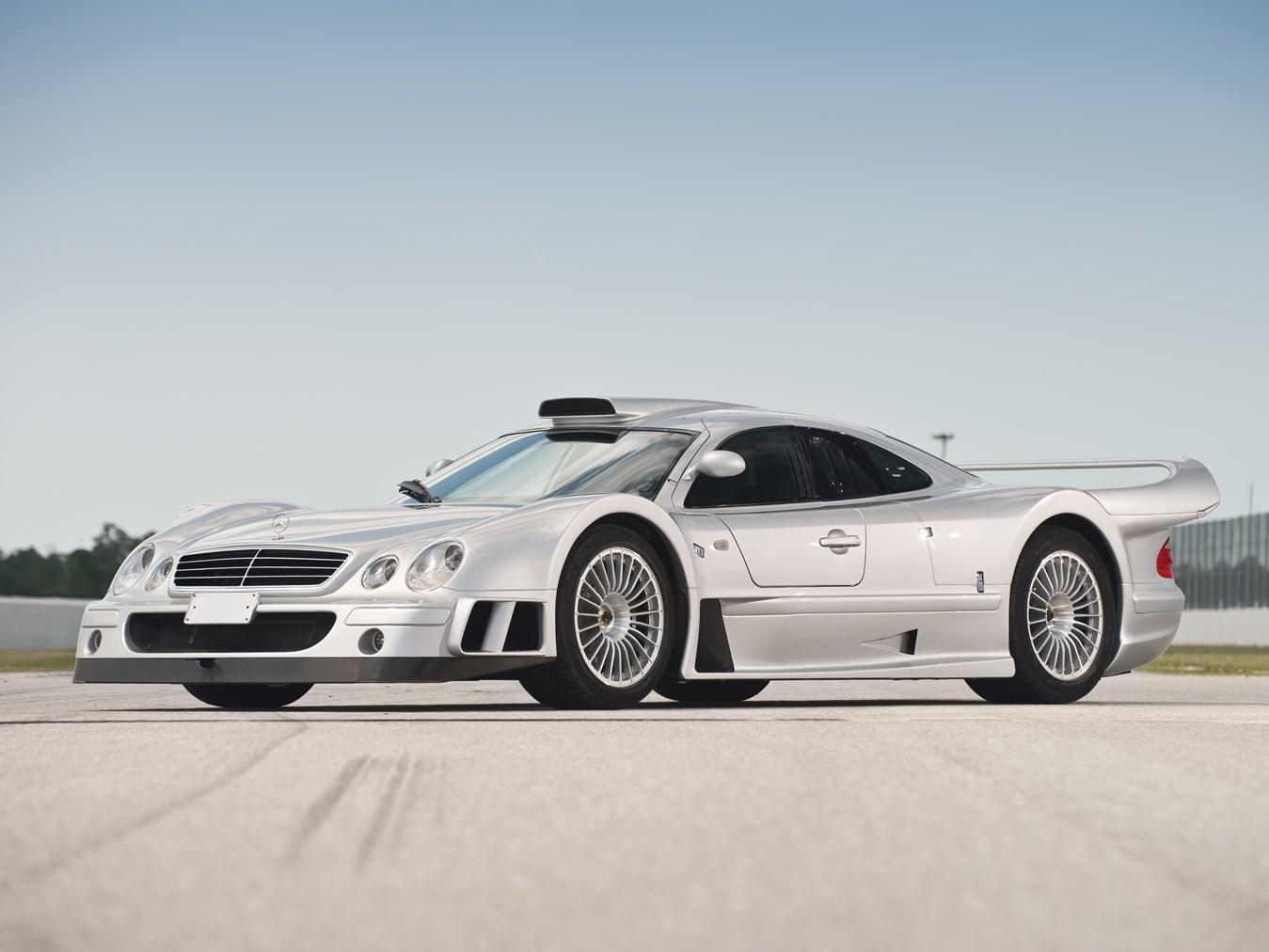 1998 Mercedes CLK GTR front 3/4