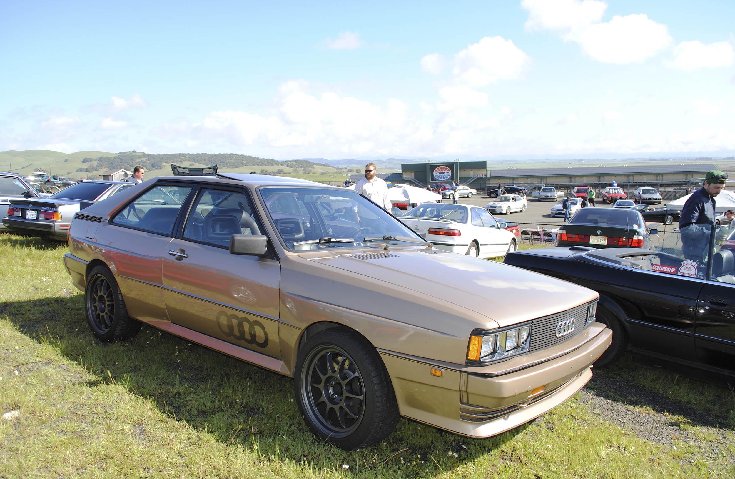 Radwood Audi Coupe