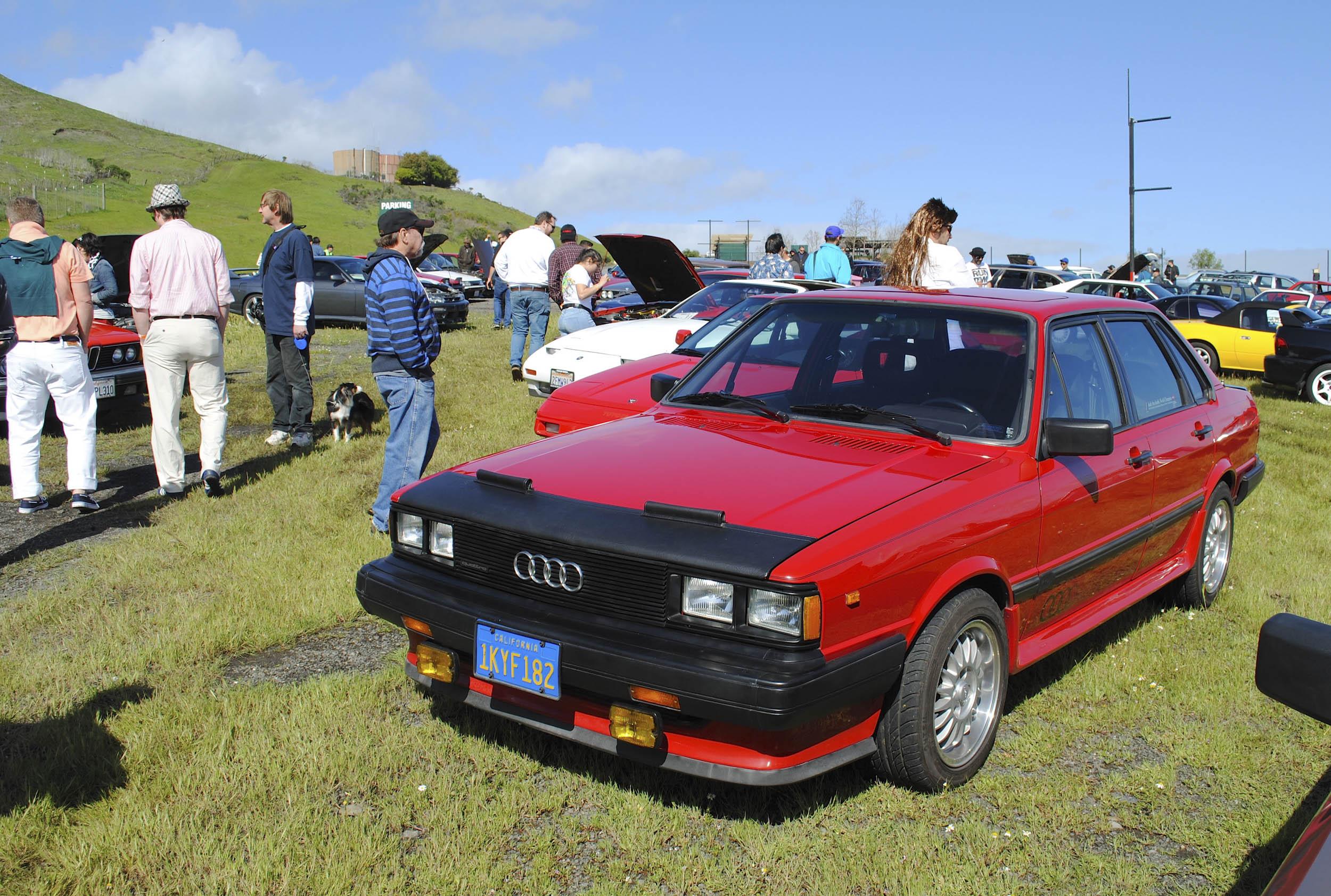 Radwood B2 Audi 4000