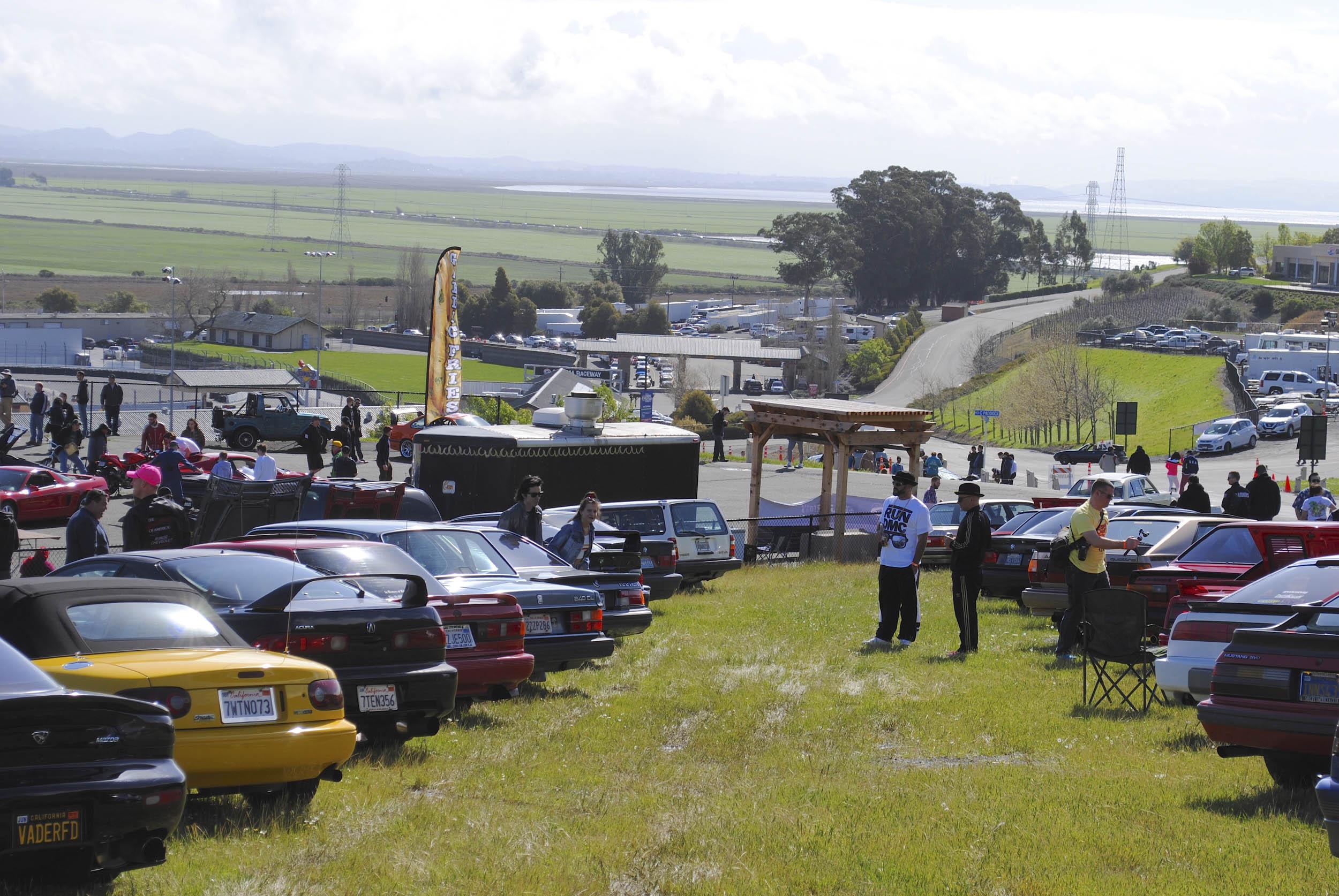 Radwood car lineup