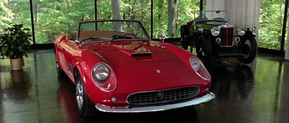 """1961 Ferrari GT California Spyder"" from Ferris Bueller's Day Off"