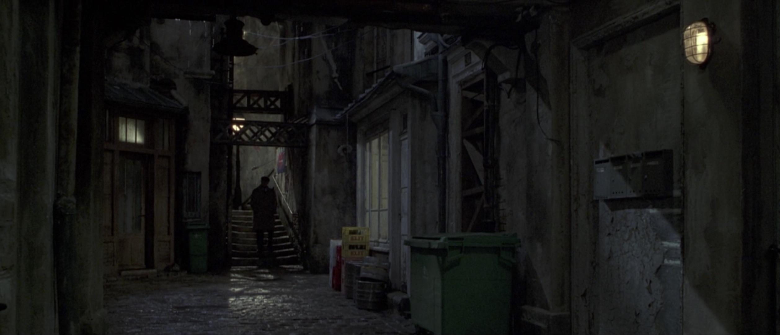 Ronin dark alley scene