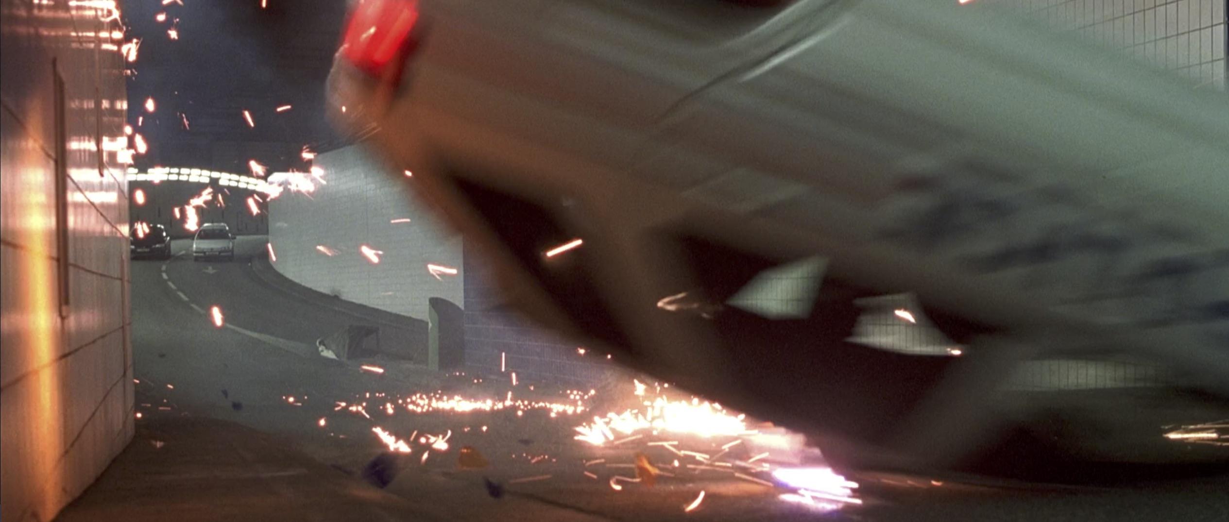 Ronin car flip in tunnel