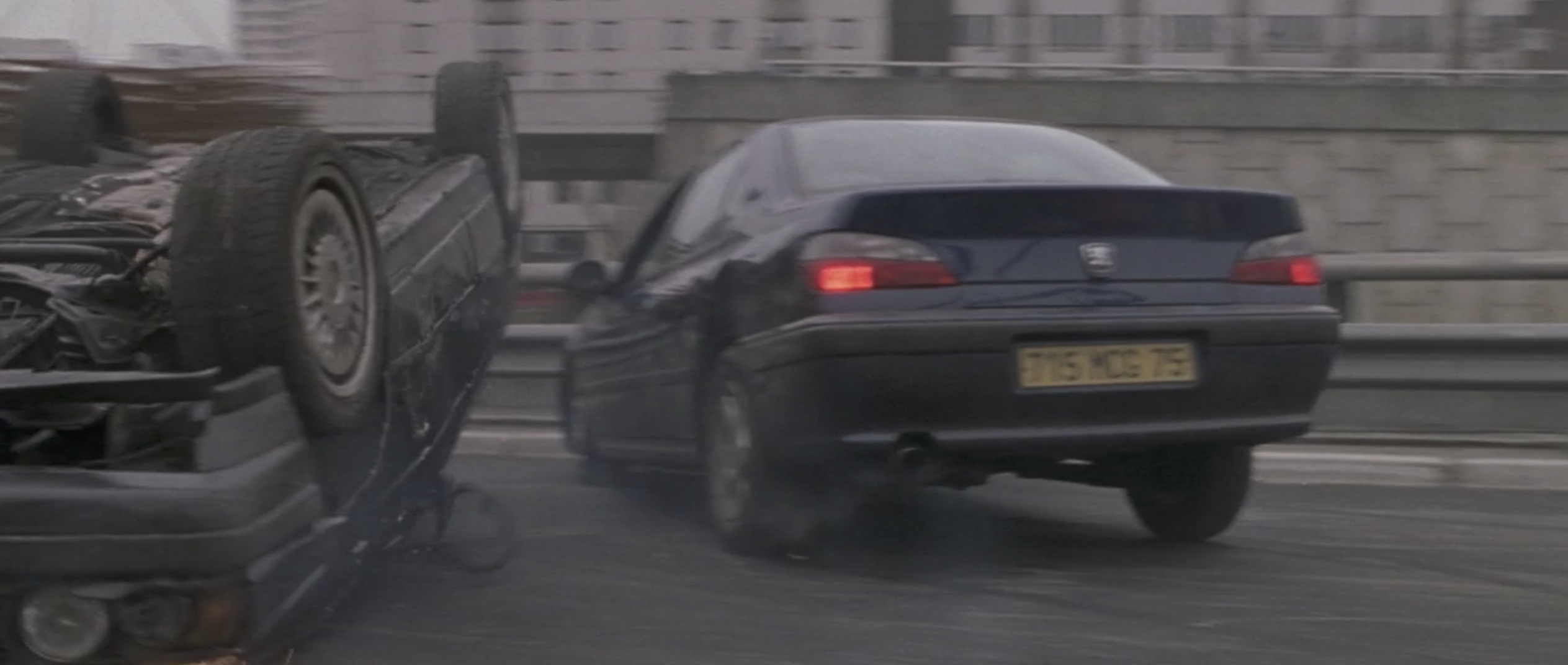 Ronin car crash