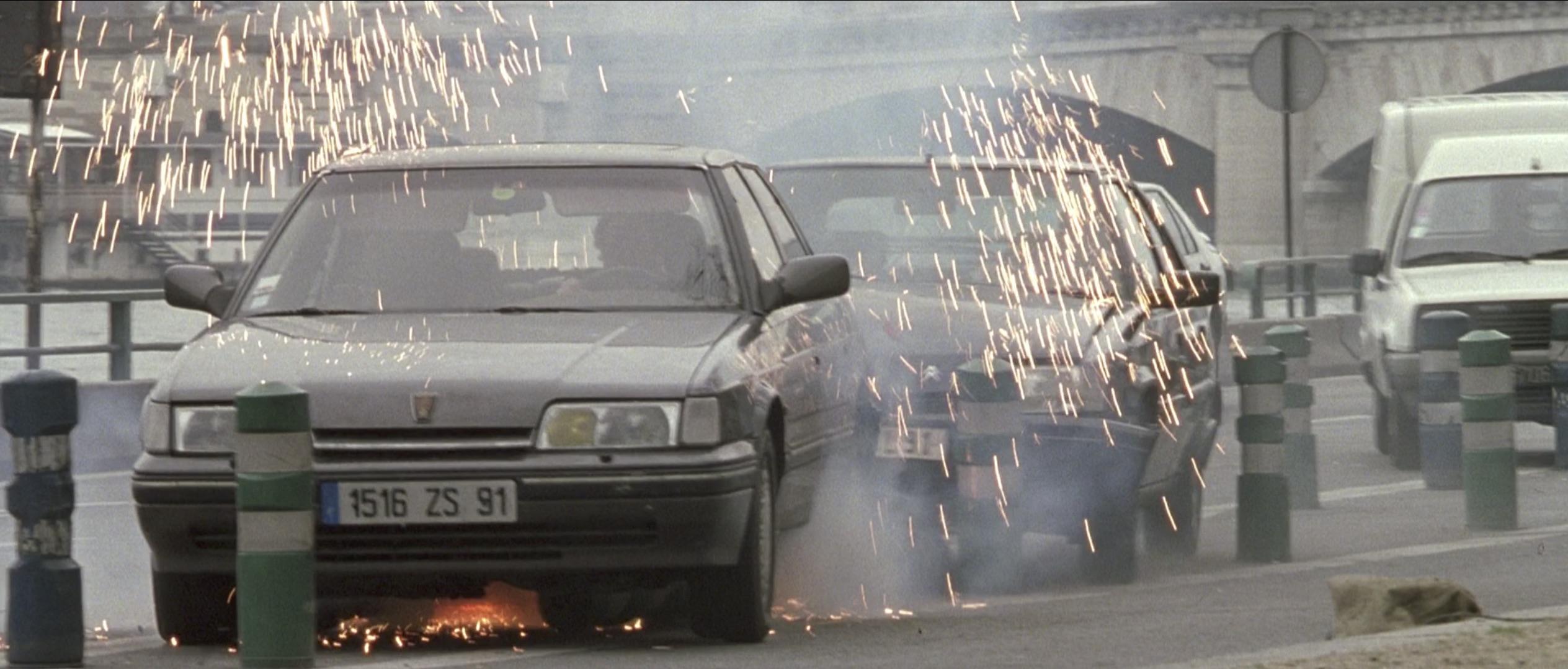 Ronin car chase sparks