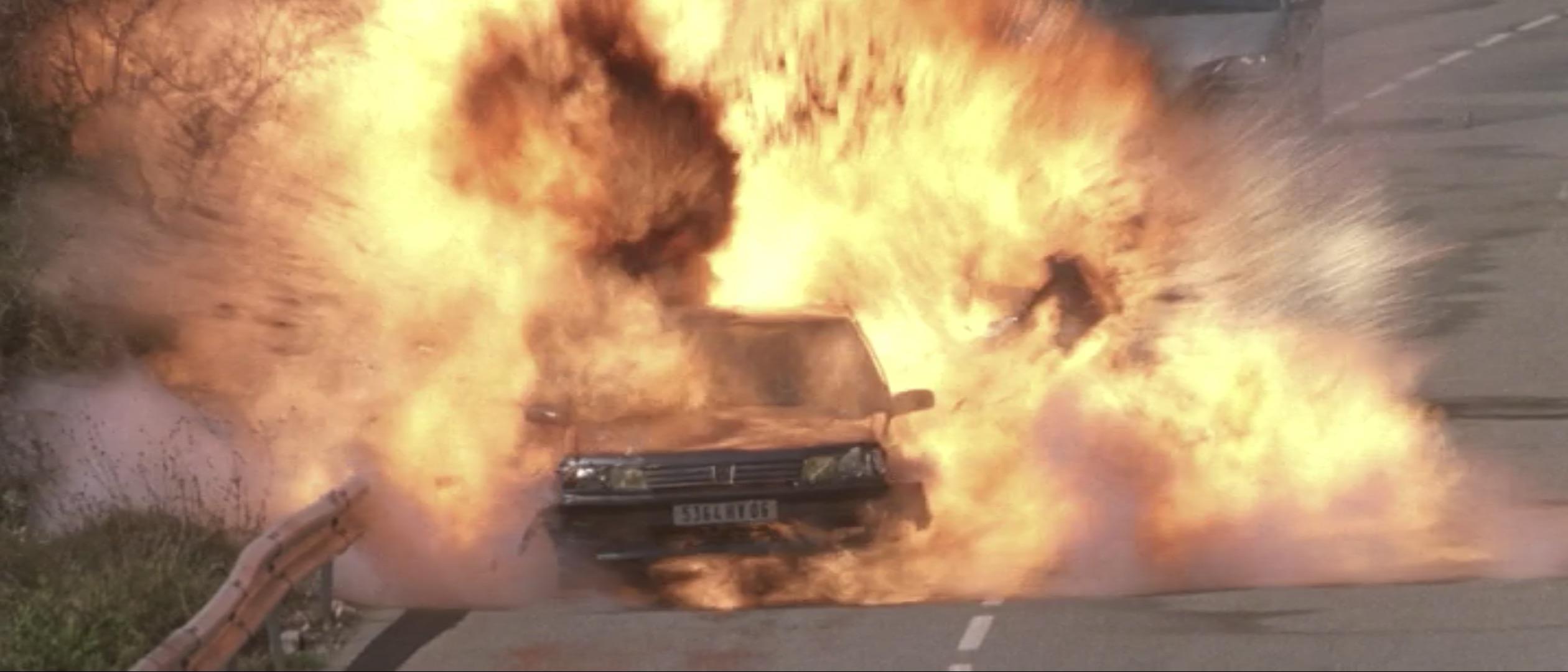 Ronin car explosion