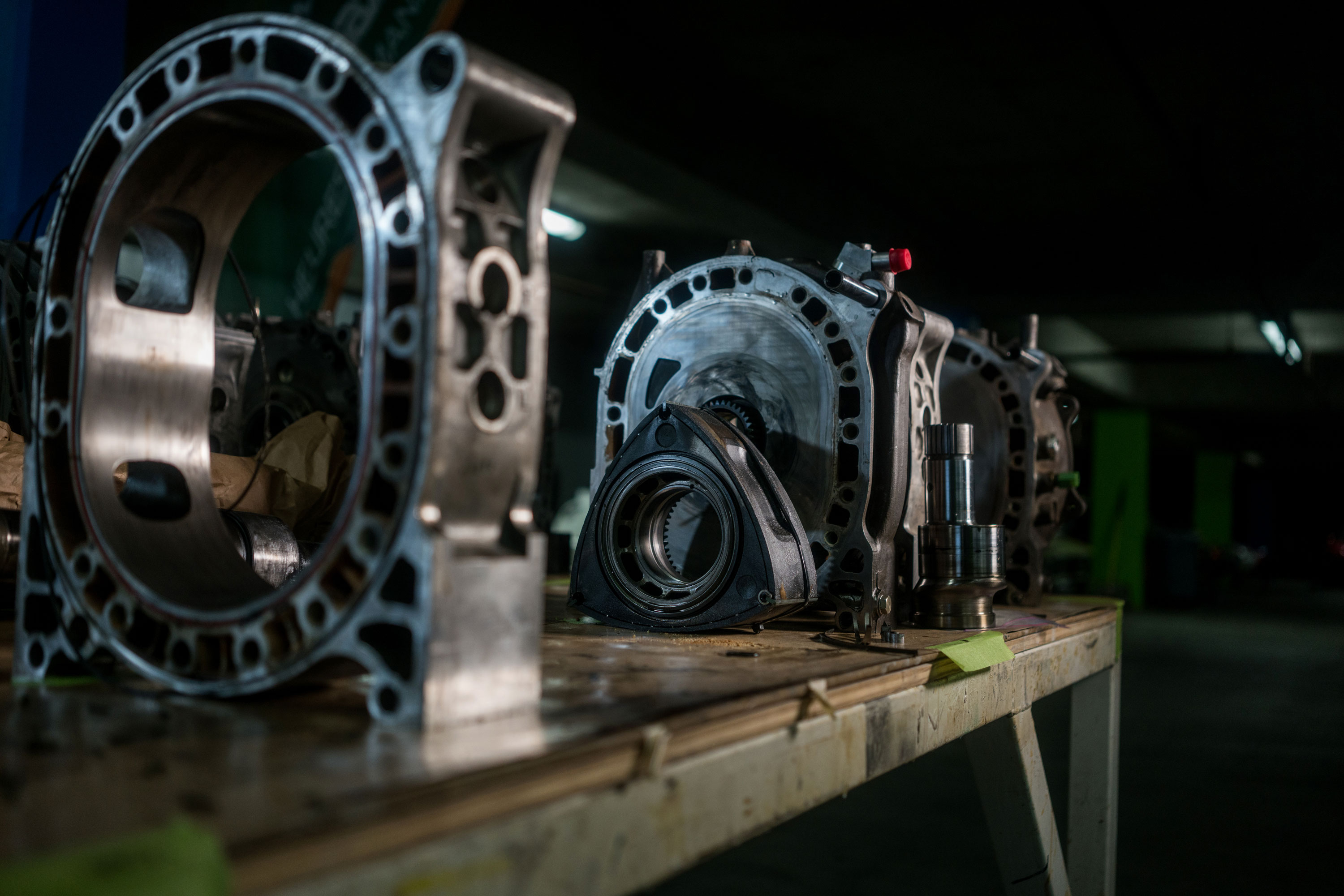 Mazda rotary engine deconstructed