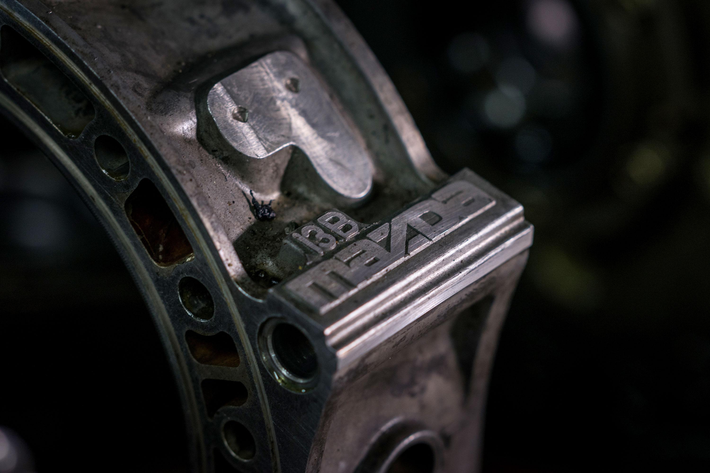 Mazda rotary engine 13B stamping