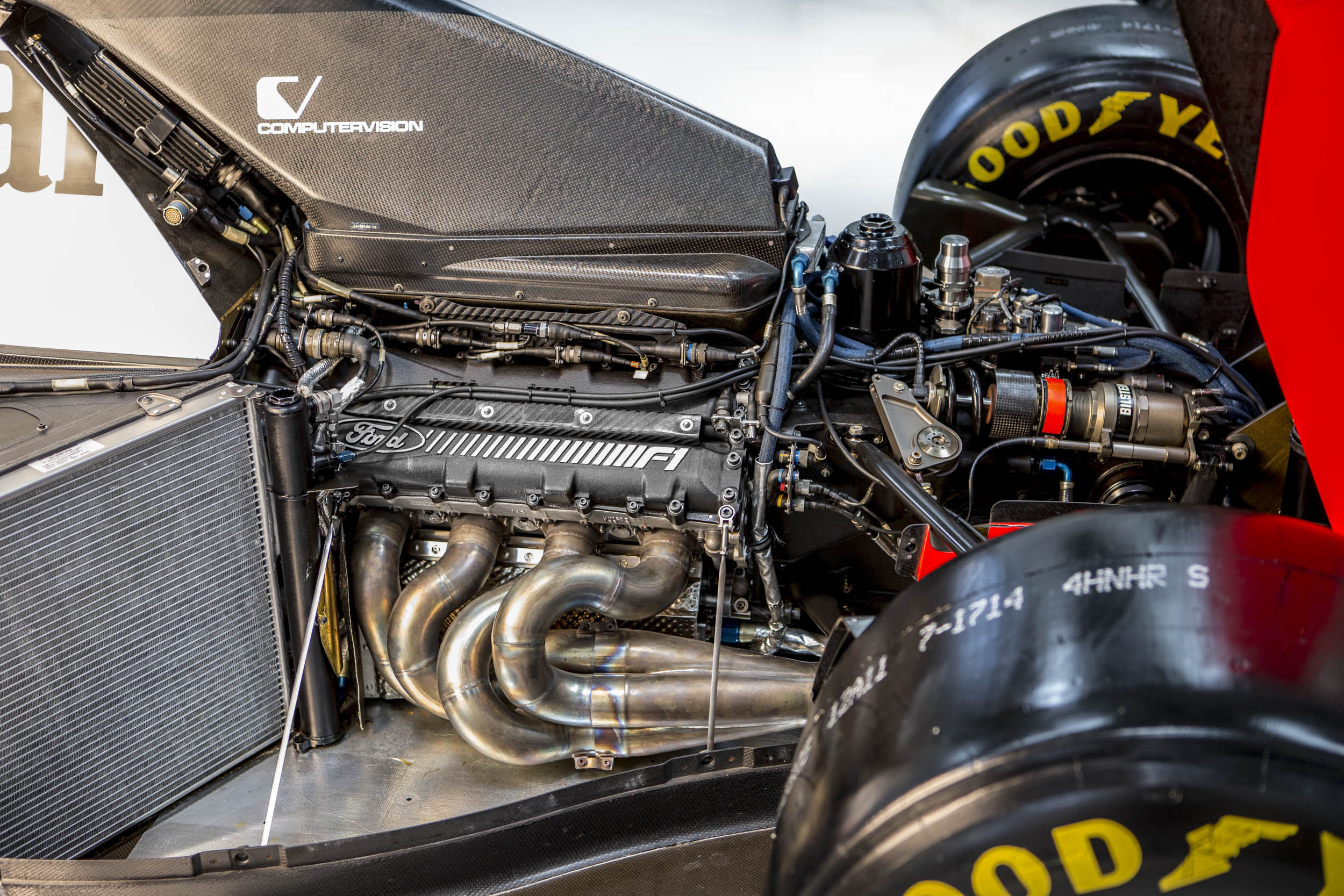 1993 MCLAREN MP4/8A Chassis no. 6 Ford engine