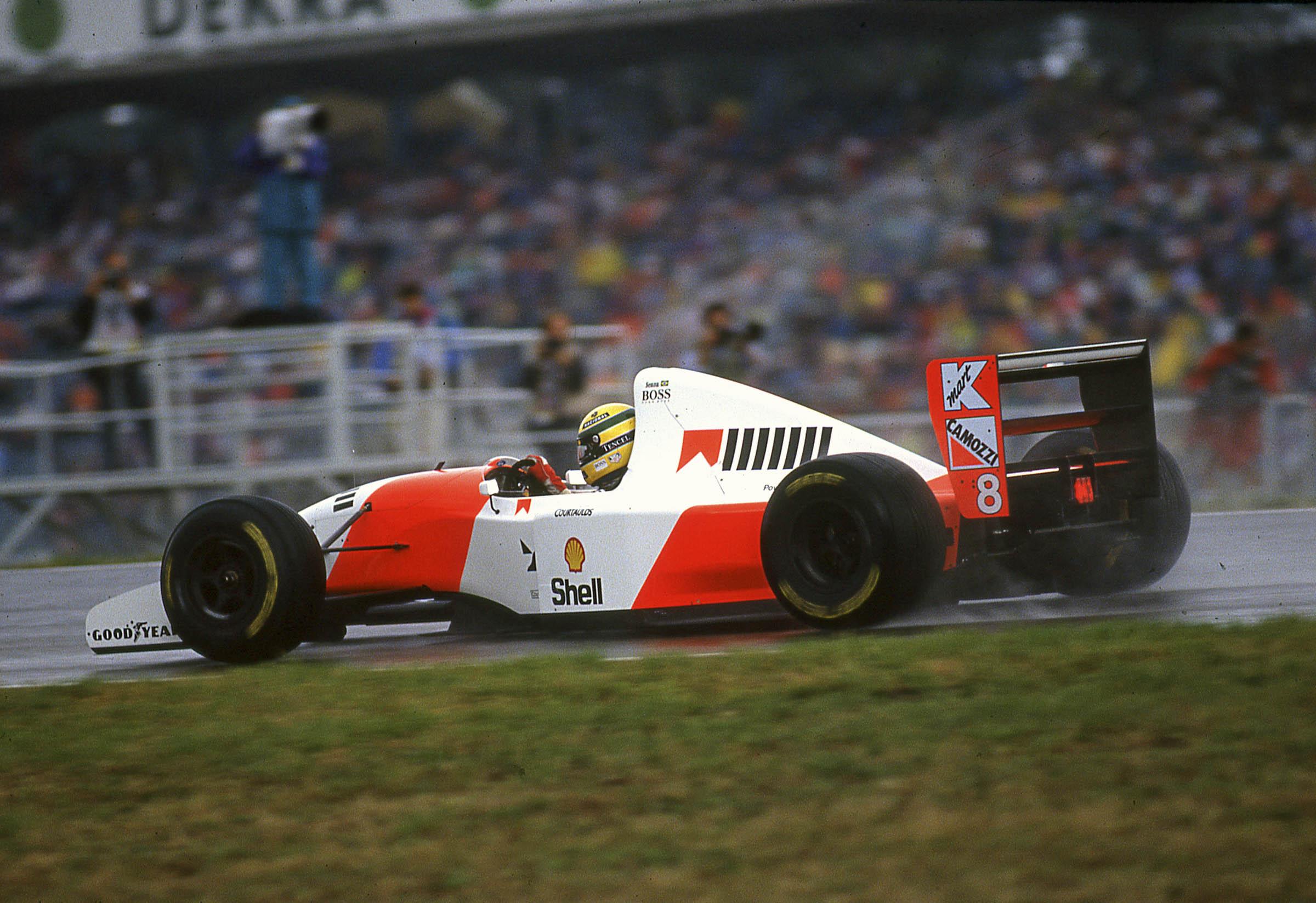 Senna's 1993 McLaren MP4/8A Chassis no. 6