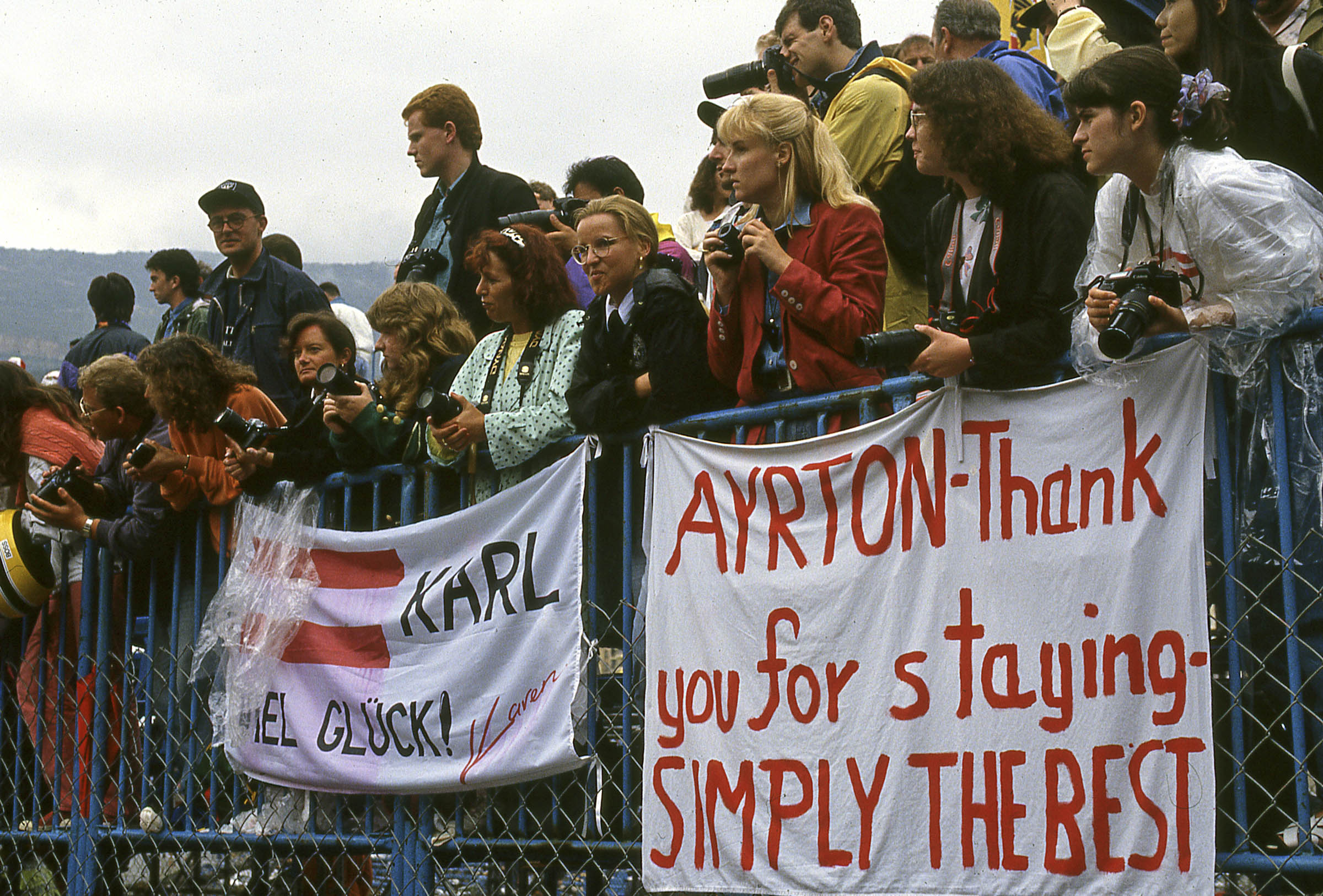 Ayrton Senna Formula 1 fans