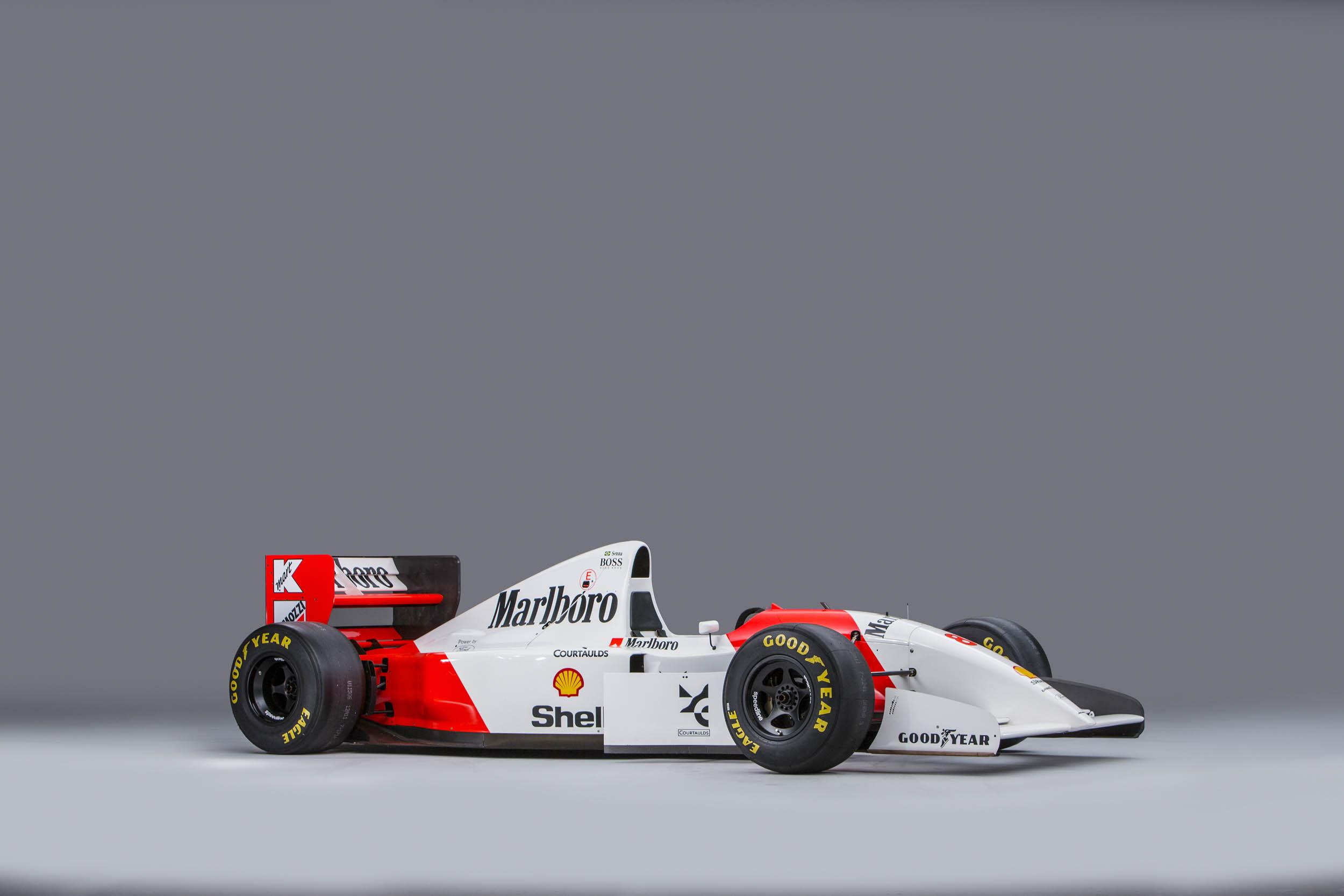 Senna McLaren MP4/8A studio