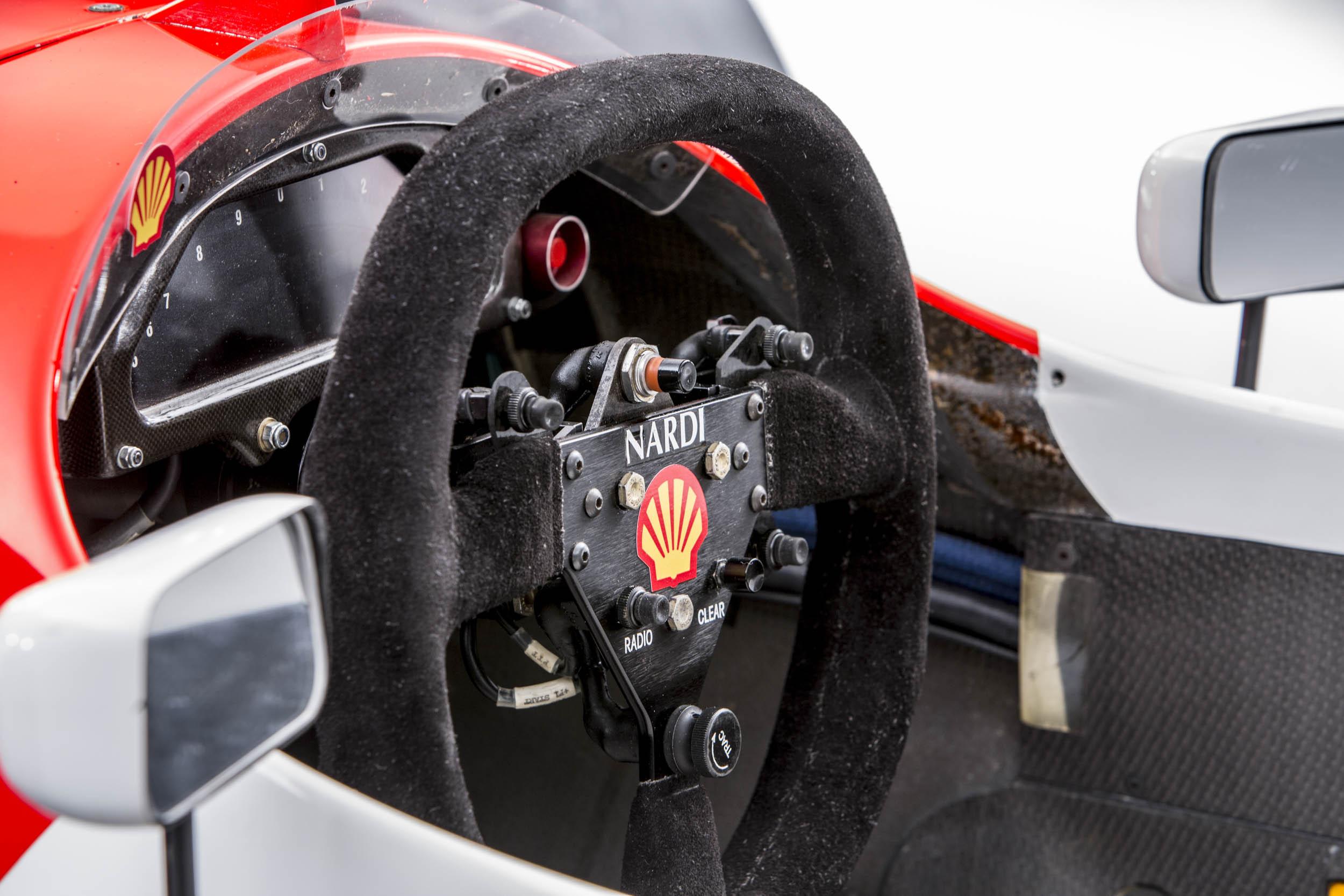 Senna McLaren MP4-8A steering wheel Nardi