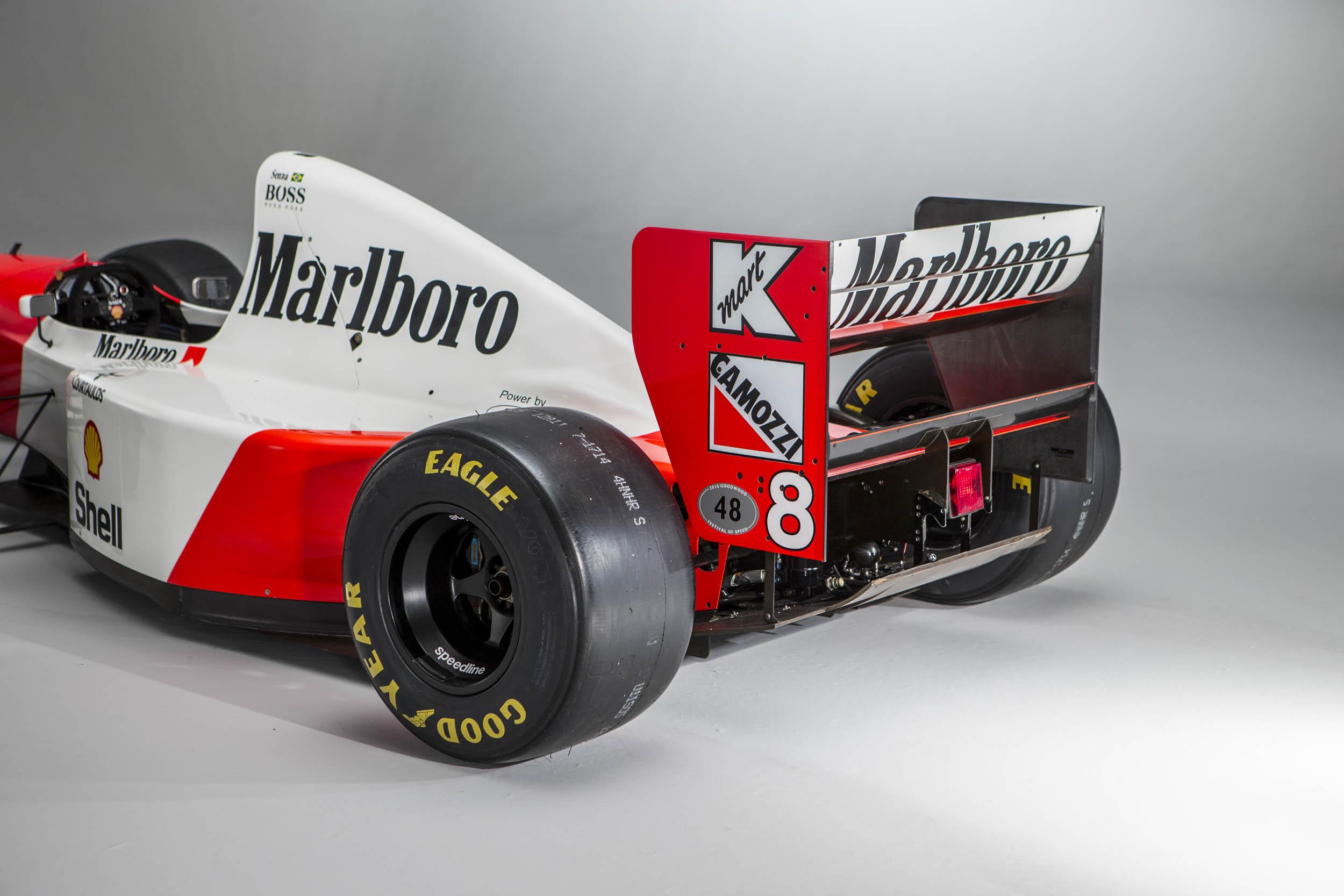 Senna McLaren-Ford rear