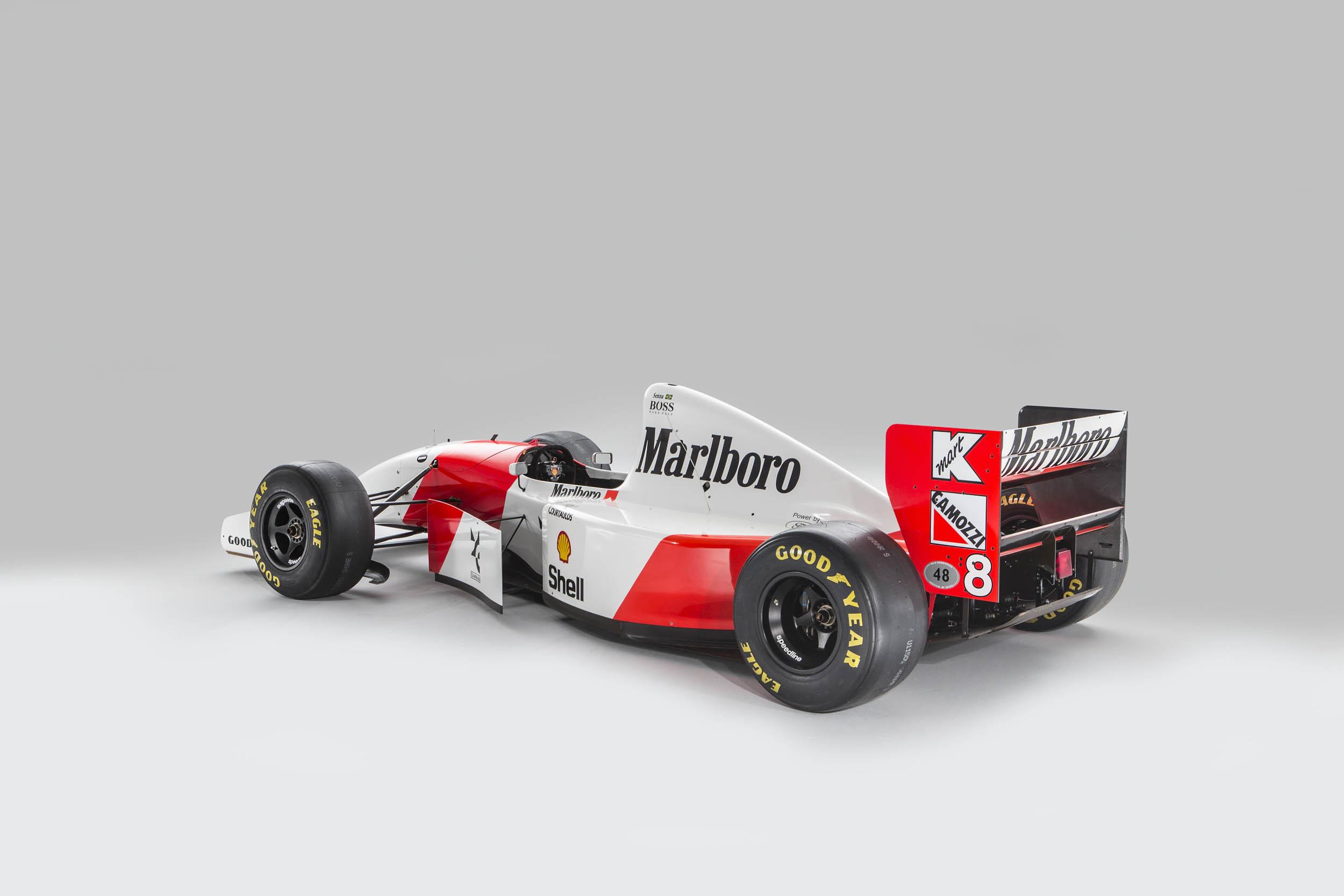 1993 McLaren MP4/8A Bonhams Formula 1 Senna