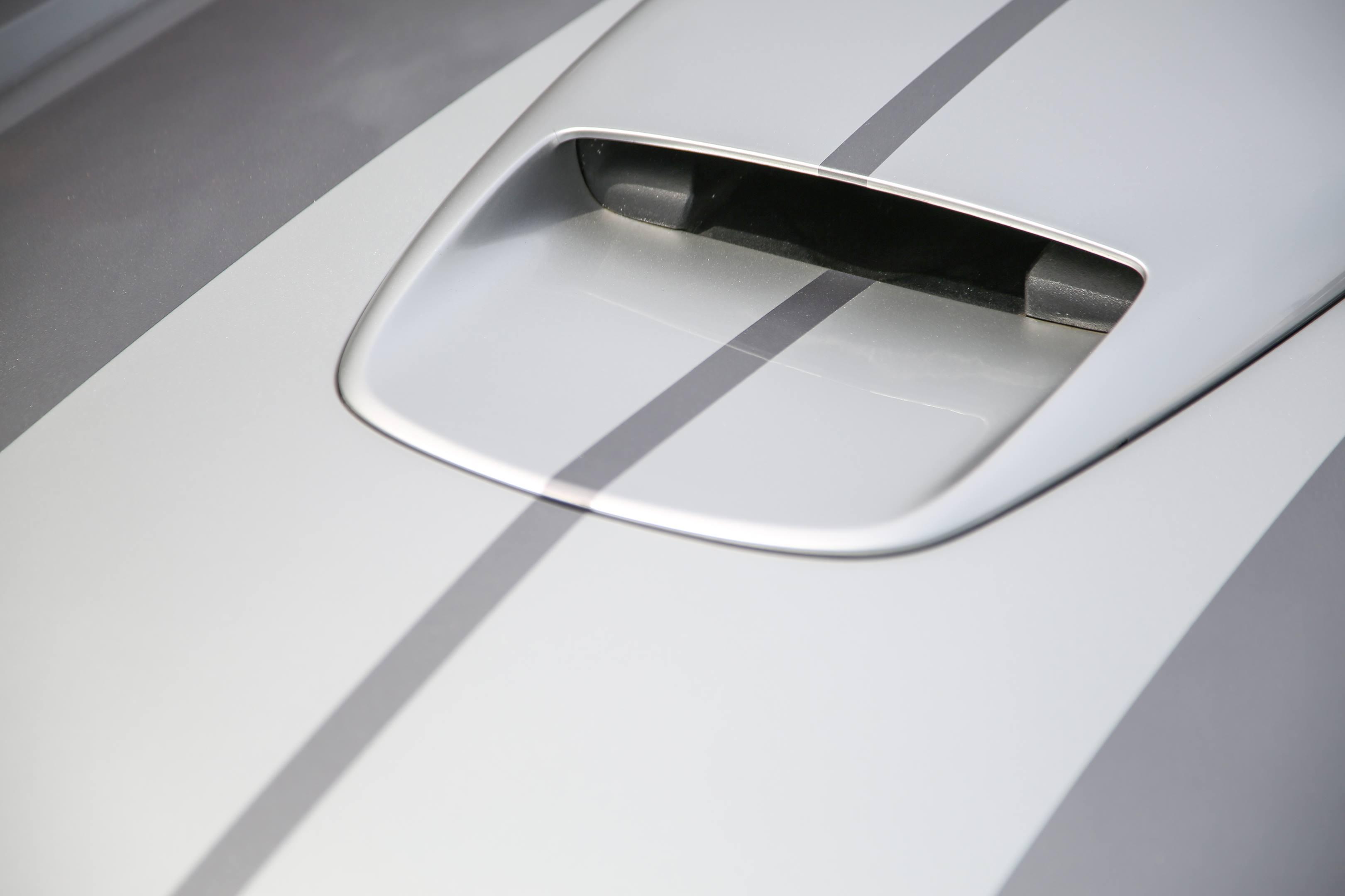 Shelby concept hood scoop
