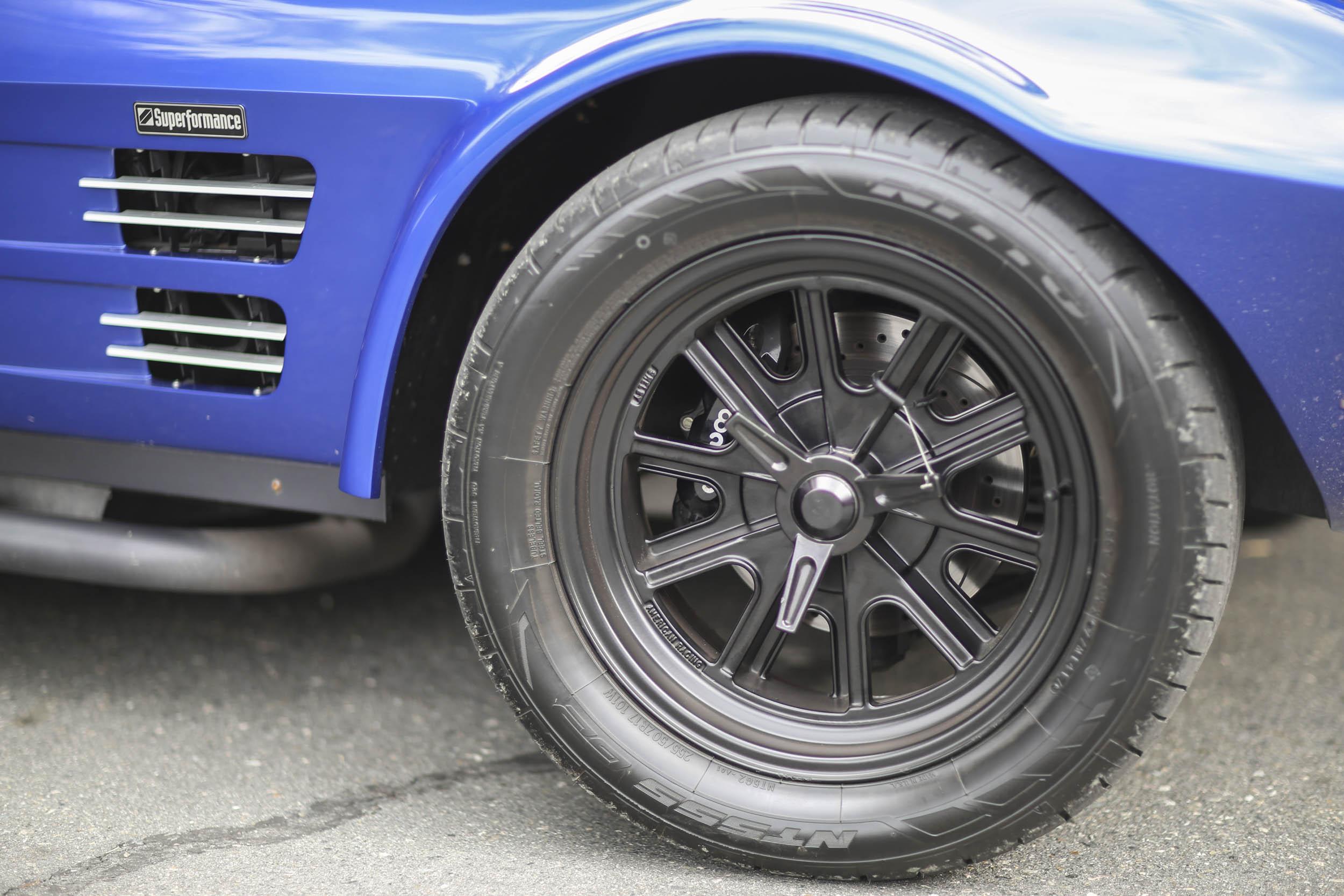 Superformance Corvette Grand Sport American Racing wheels