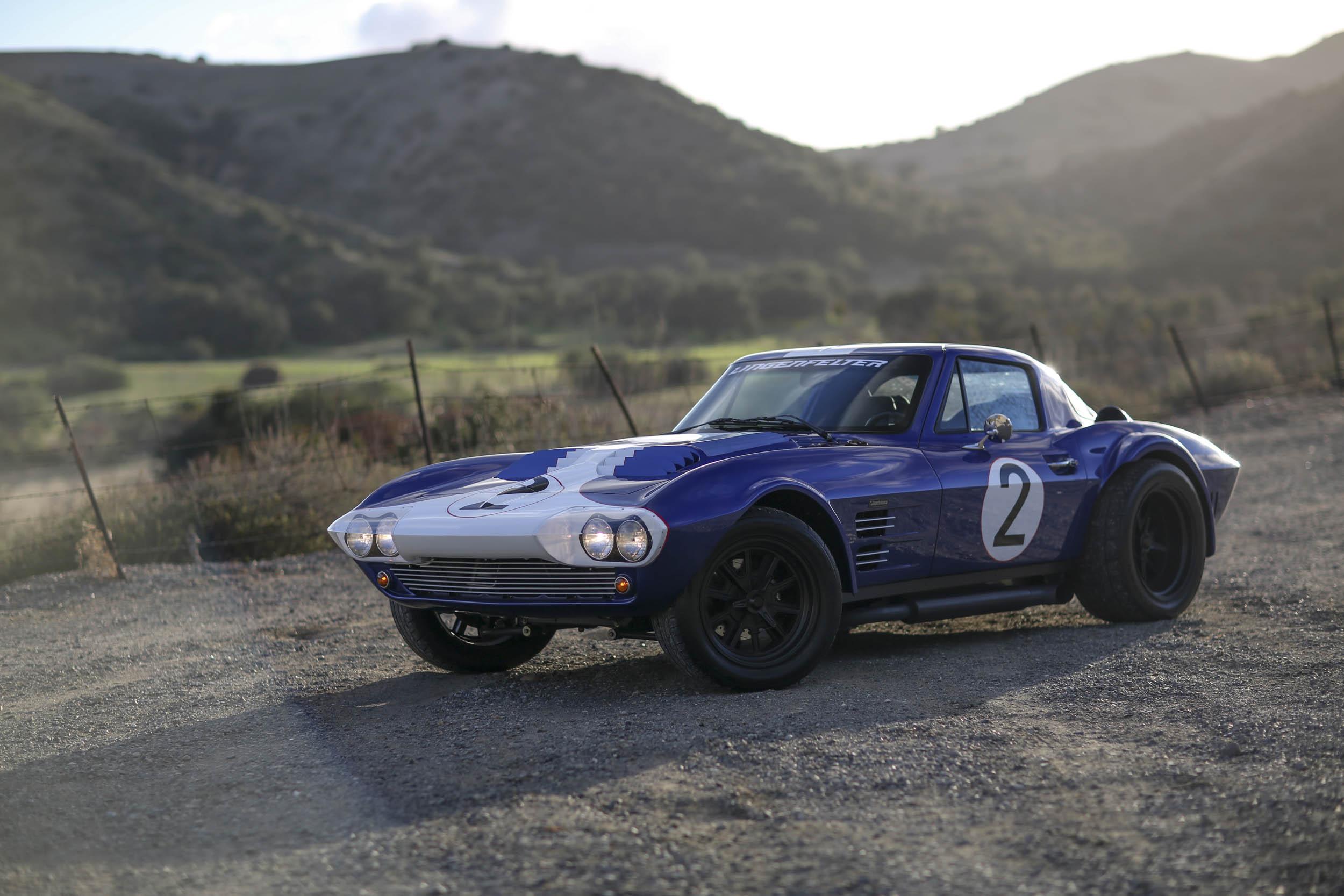 Superformance Corvette Grand Sport front
