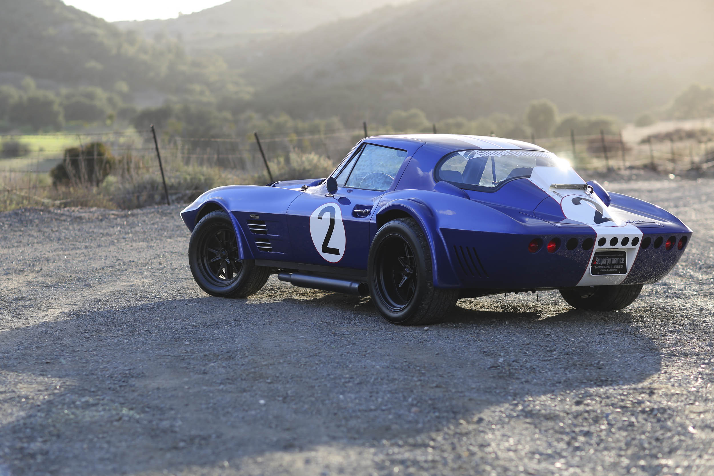 Superformance Corvette Grand Sport rear 3/4