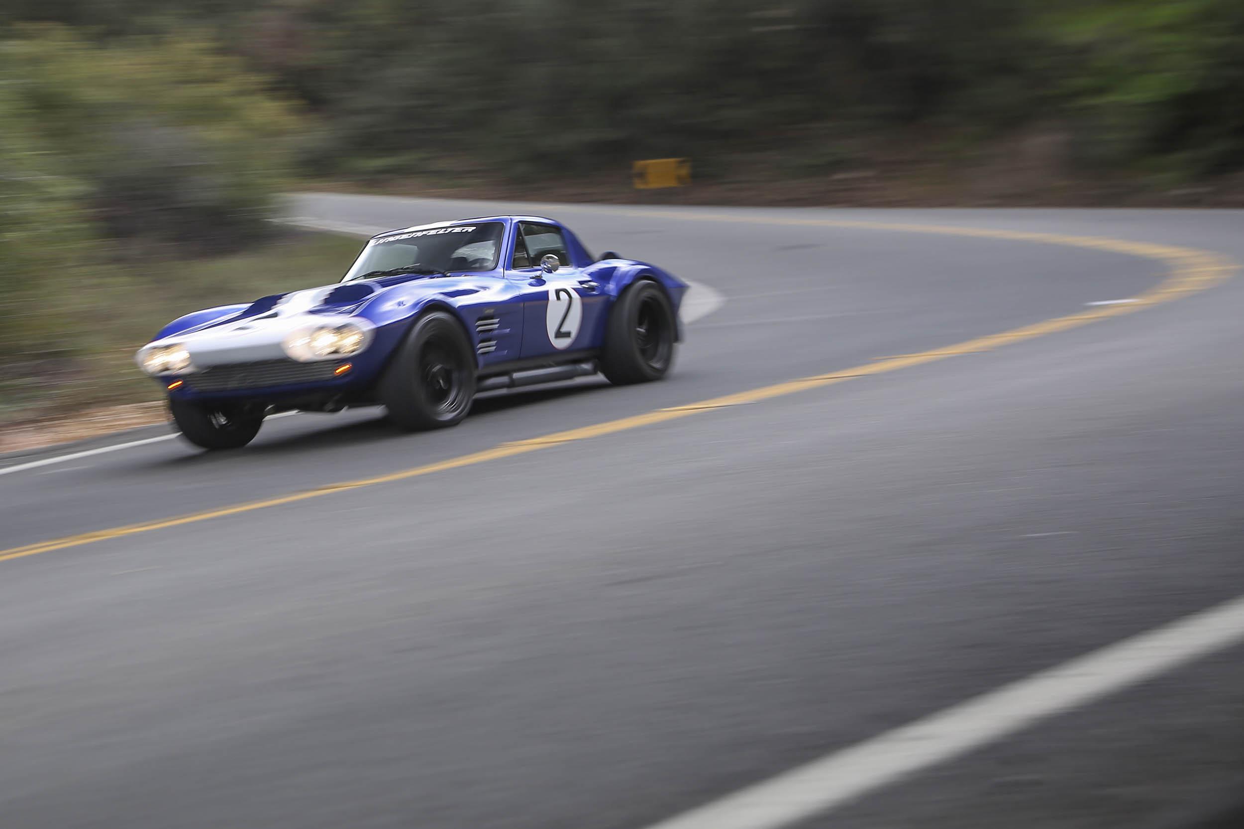 Superformance Corvette Grand Sport banking right