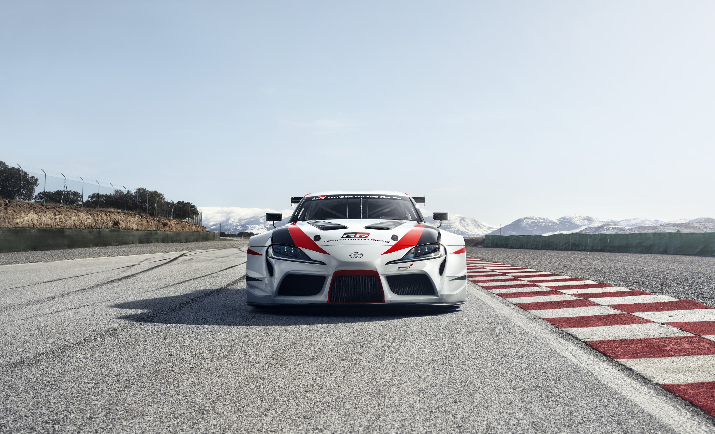 Toyota Supra racing concept front