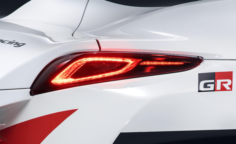 Toyota Supra racing concept taillight