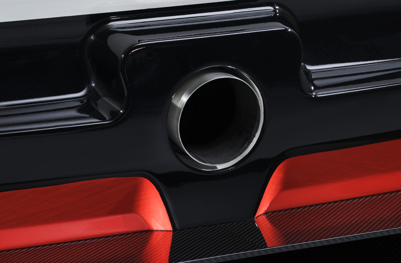 Toyota Supra racing concept exhaust port