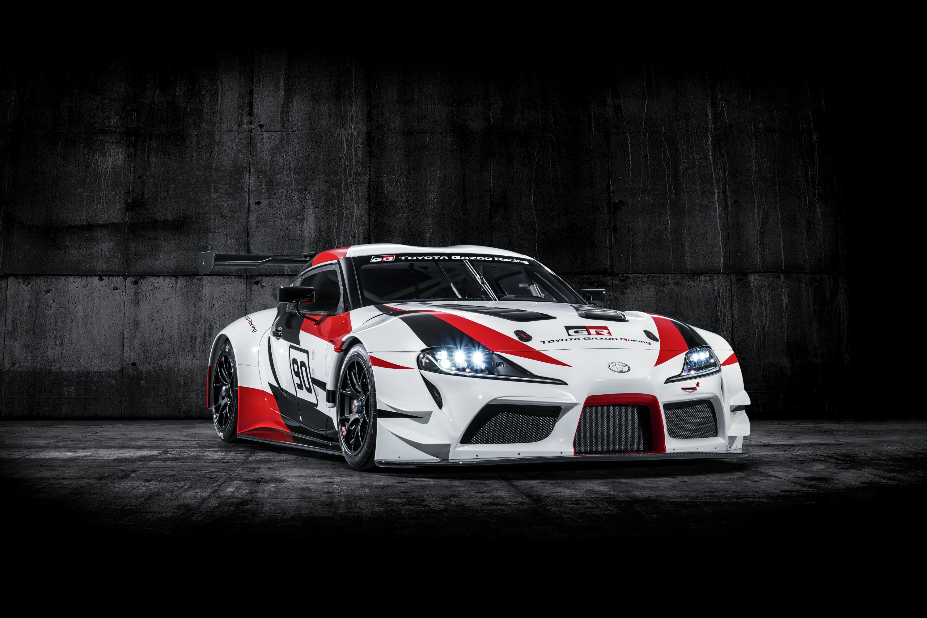 Toyota Supra racing concept front 3/4
