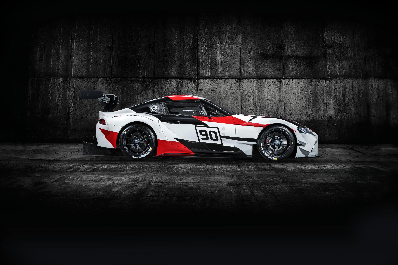 Toyota Supra racing concept profile