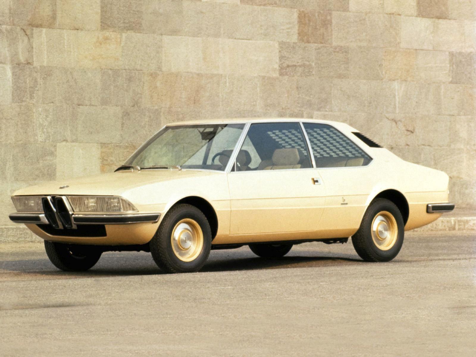 1970 BMW 2200 Ti Garmisch Concept