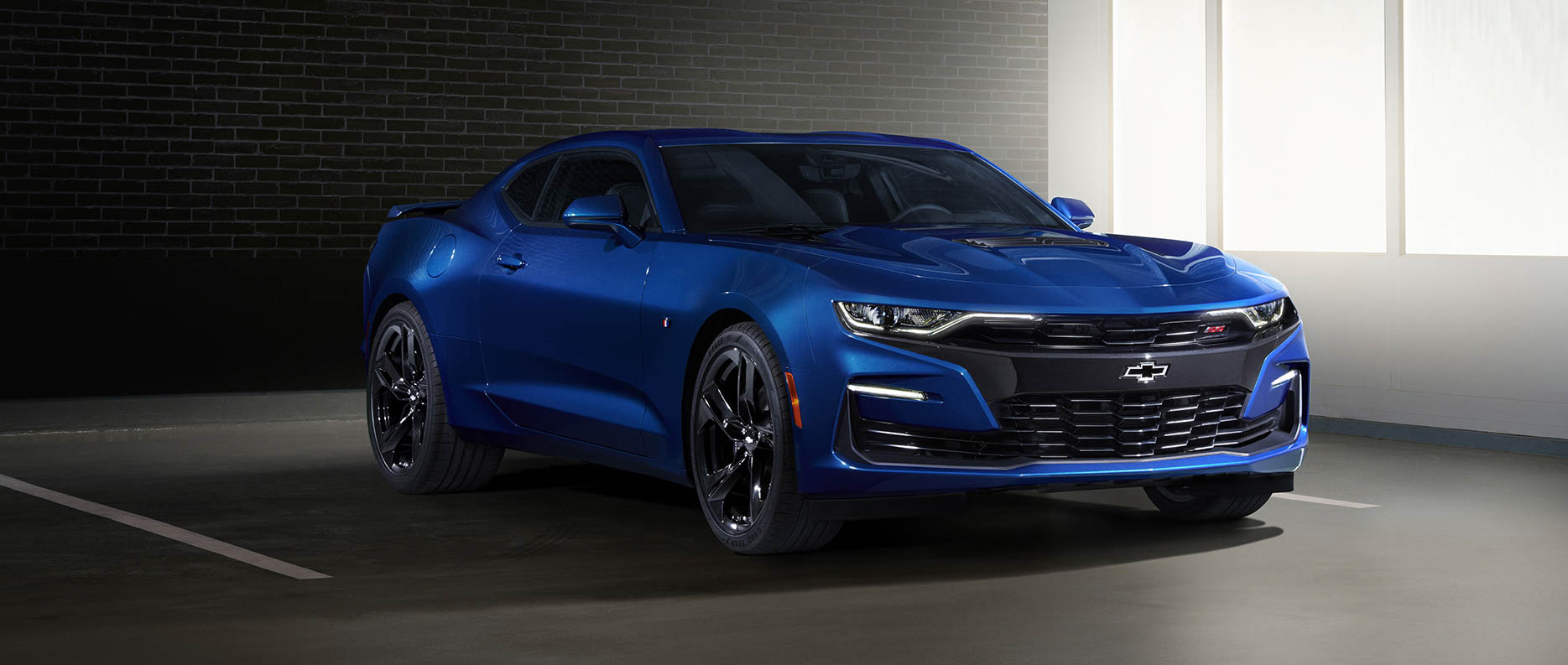 2019 Chevrolet Camaro SS front 3/4