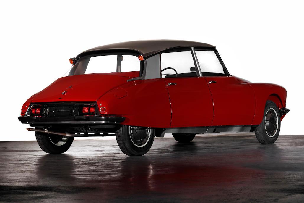 1965 Citroën ID 19 berline rear 3/4