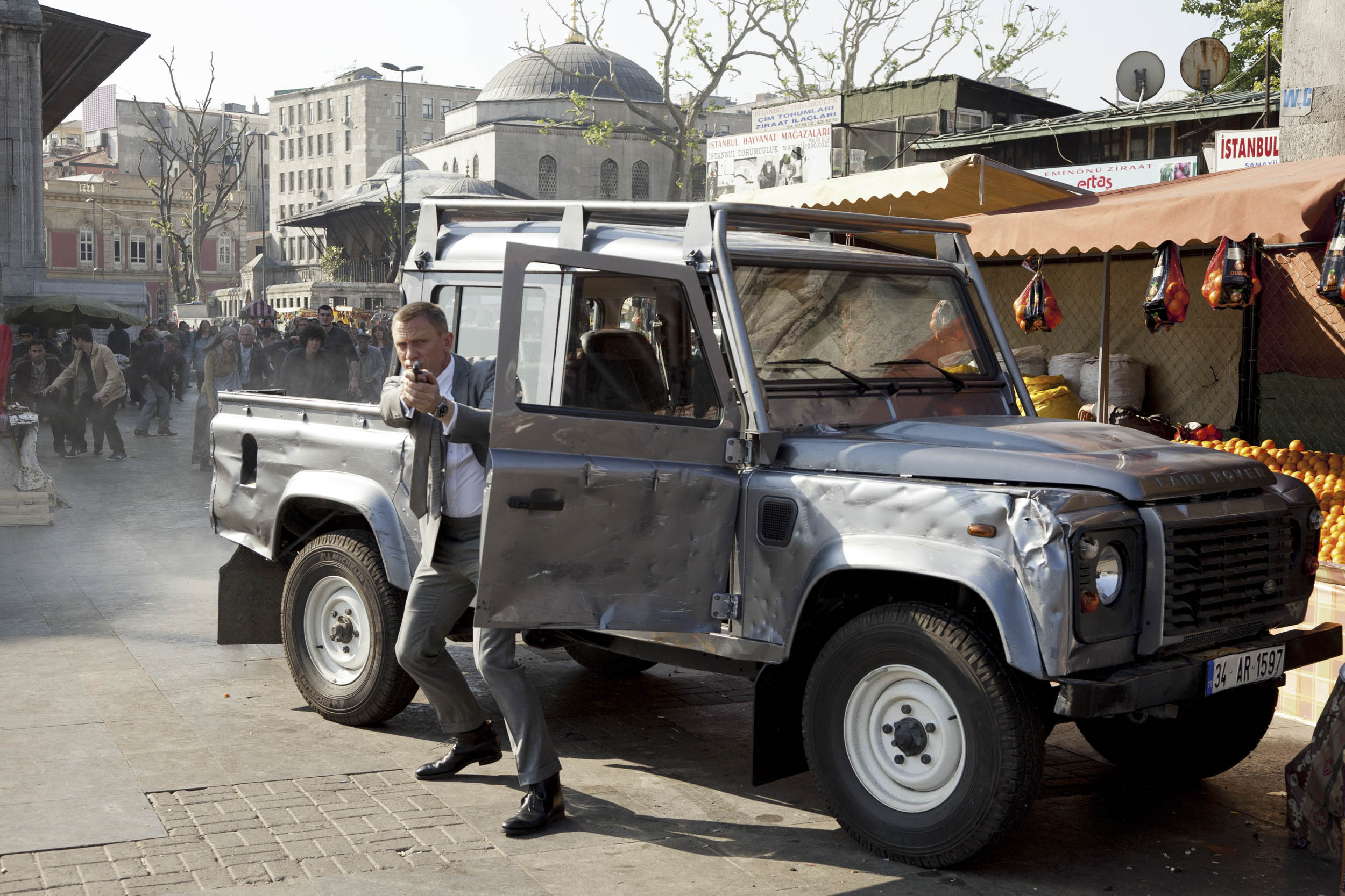 Land Rover in Skyfall