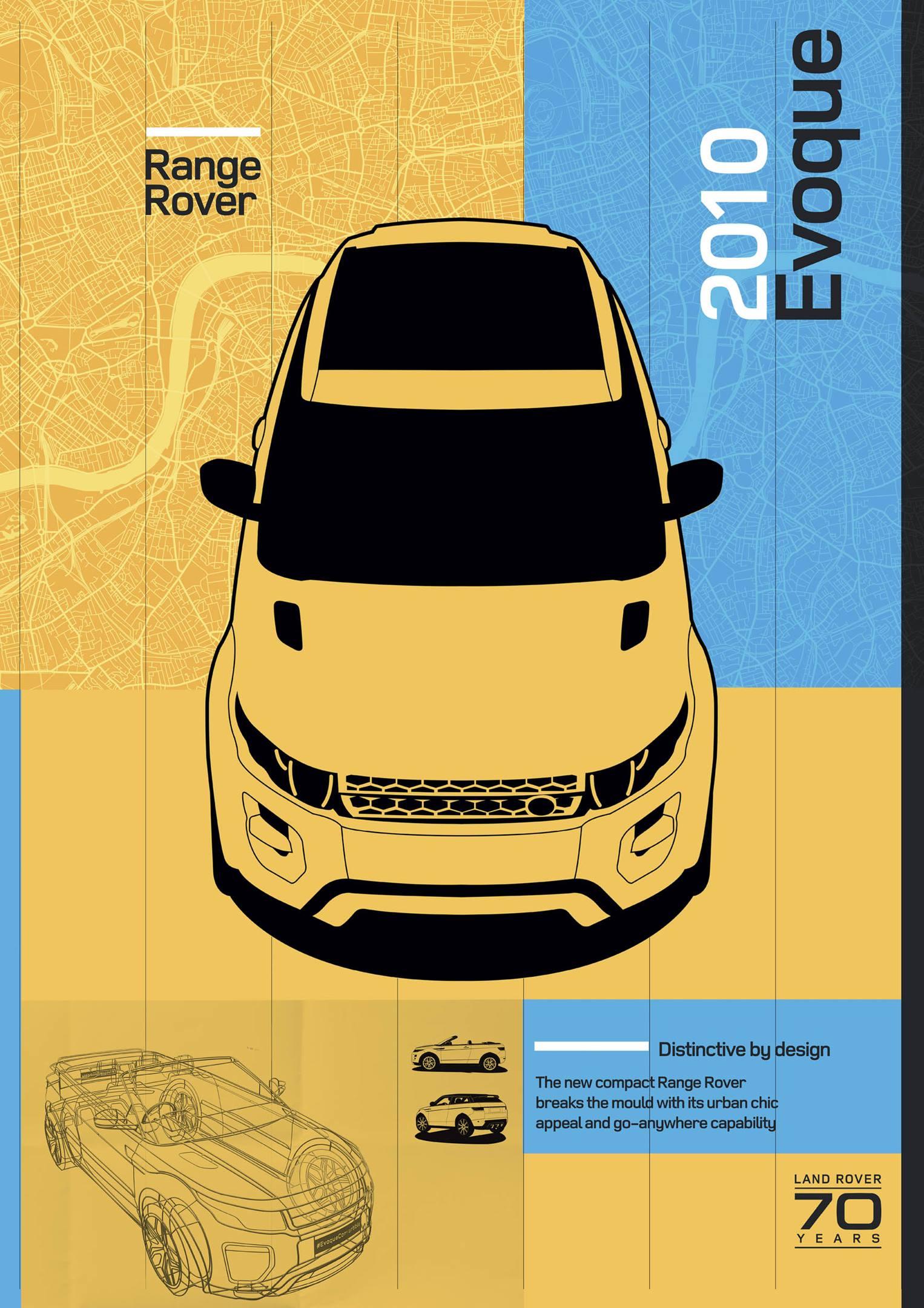 2010 Range Rover Evoque poster