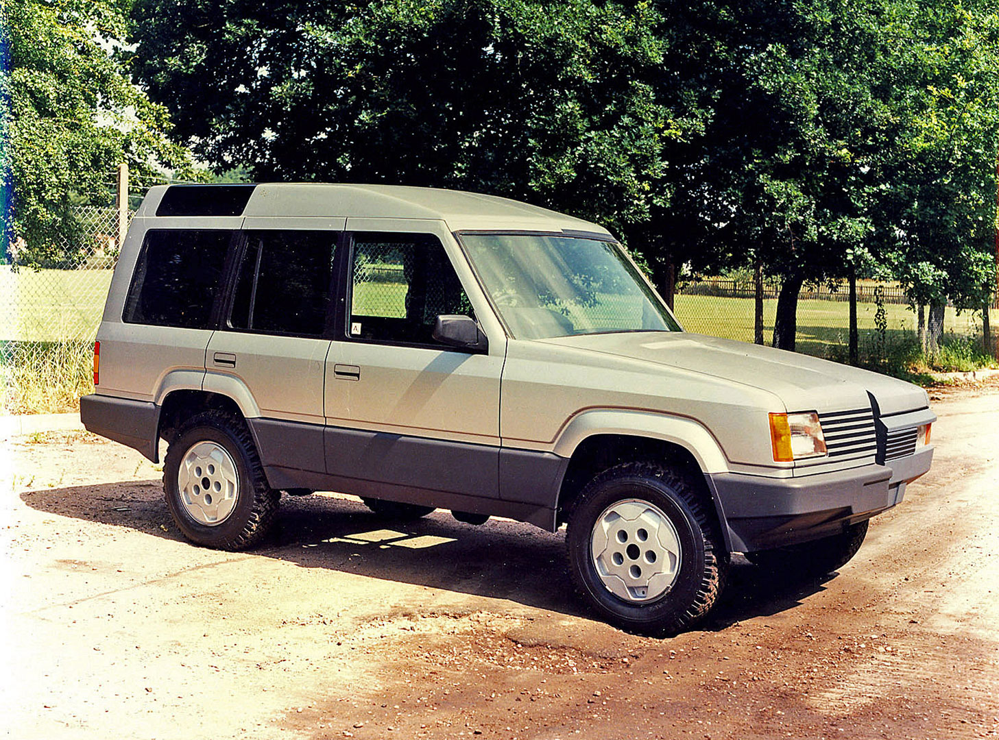 1986 Land Rover Discovery prototype