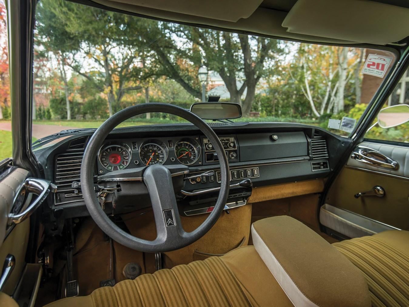 1973 Citroën DS 23 Pallas interior